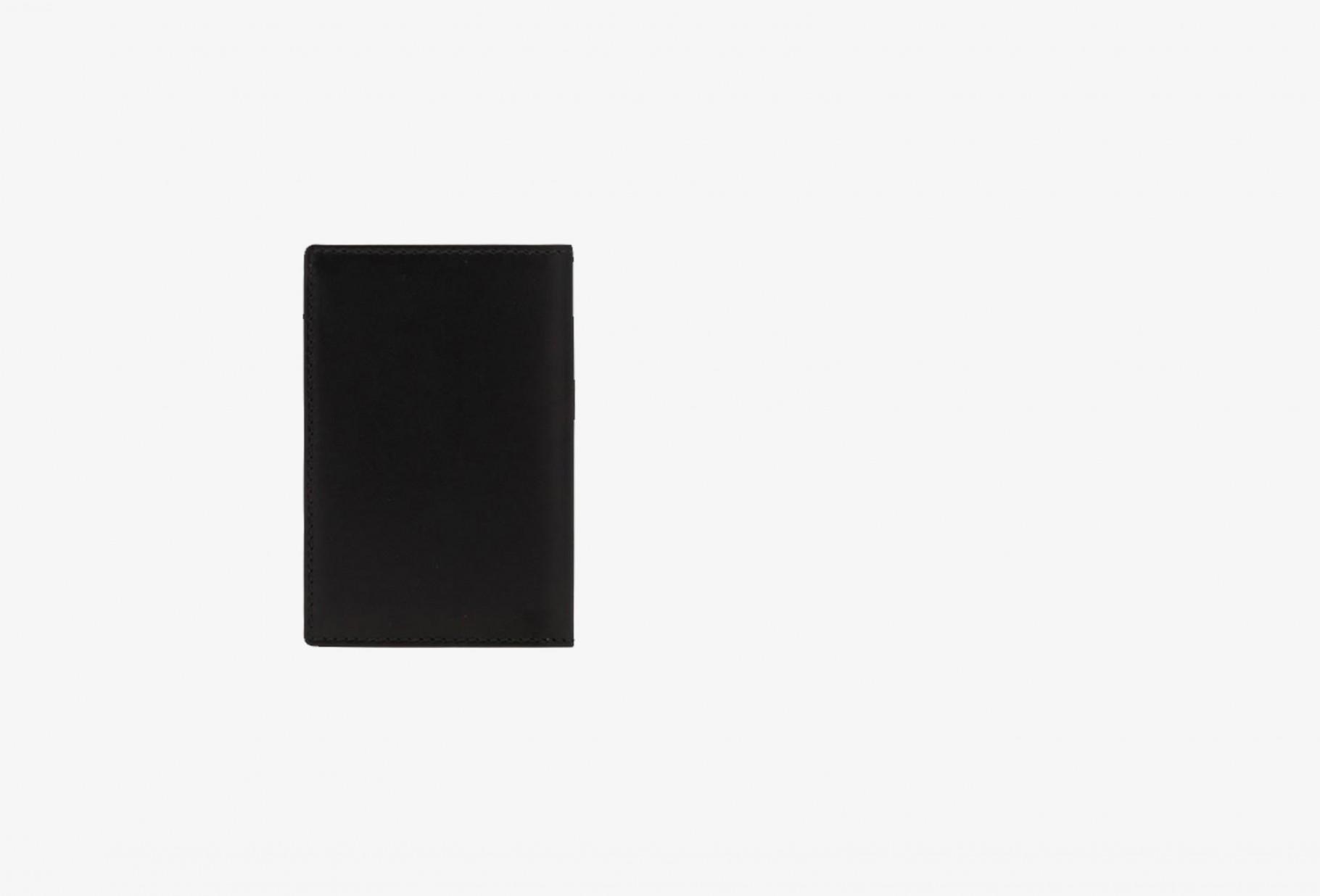 COMME DES GARÇONS WALLETS / Cdg leather wallet classic Sa6400 black