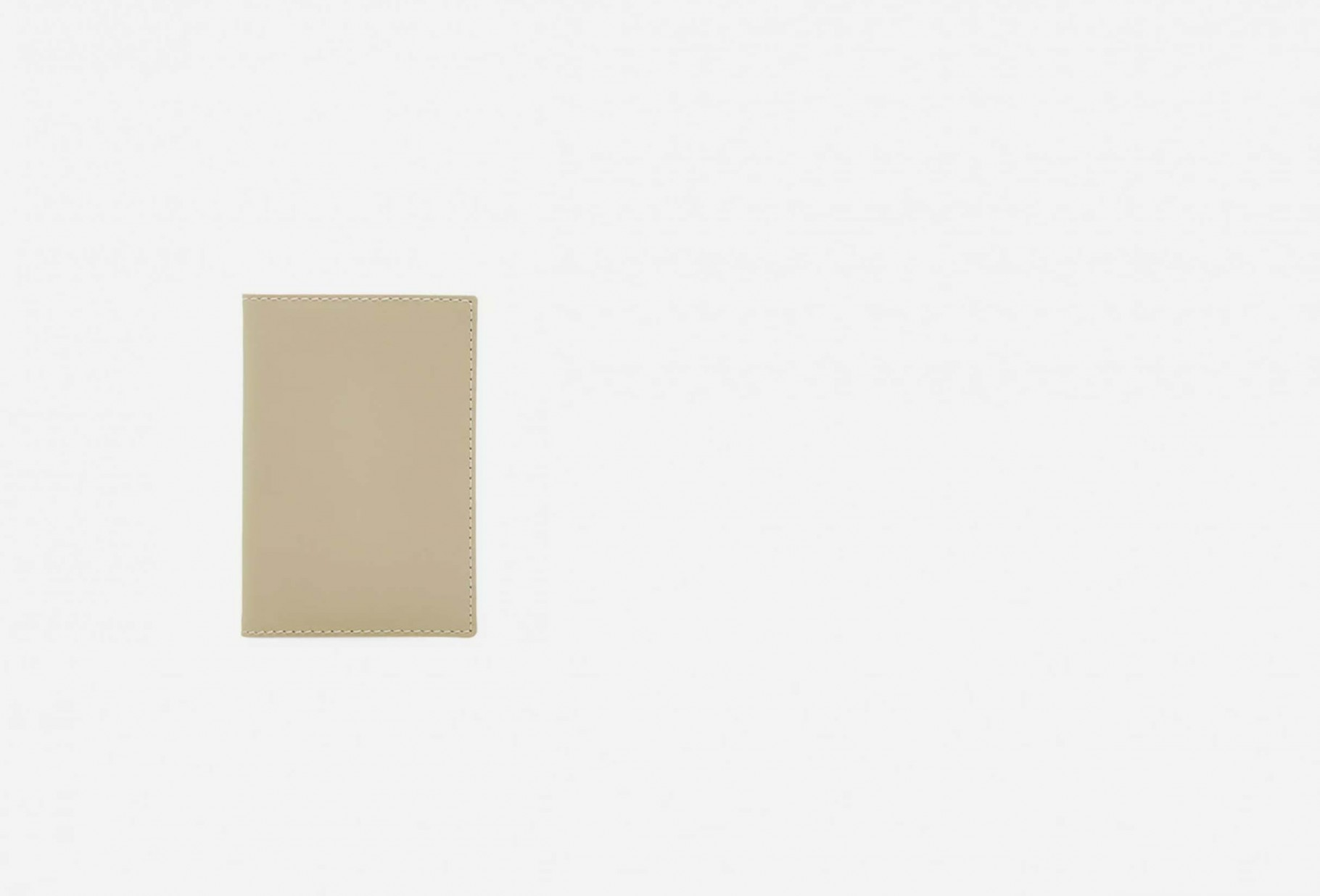 COMME DES GARÇONS WALLETS / Cdg leather wallet classic Sa6400 white