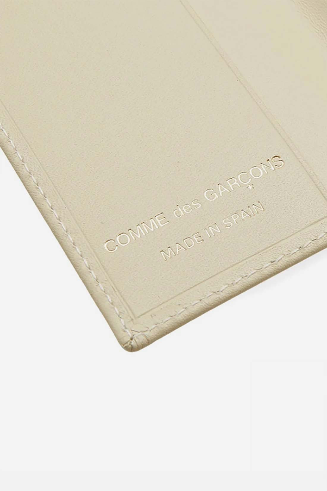 COMME DES GARÇONS WALLETS / Cdg leather wallet classic White