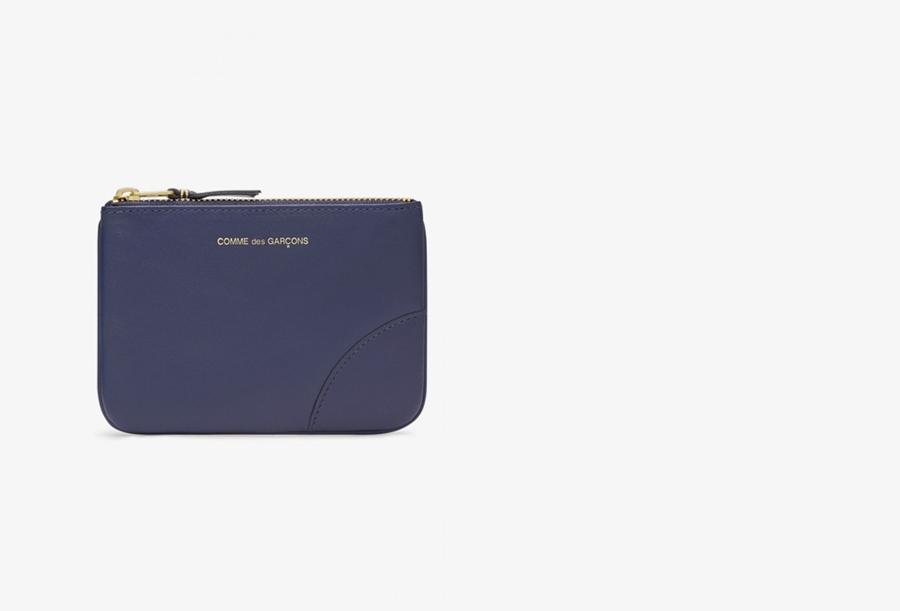COMME DES GARÇONS WALLETS / Cdg leather wallet classic Sa8100 navy