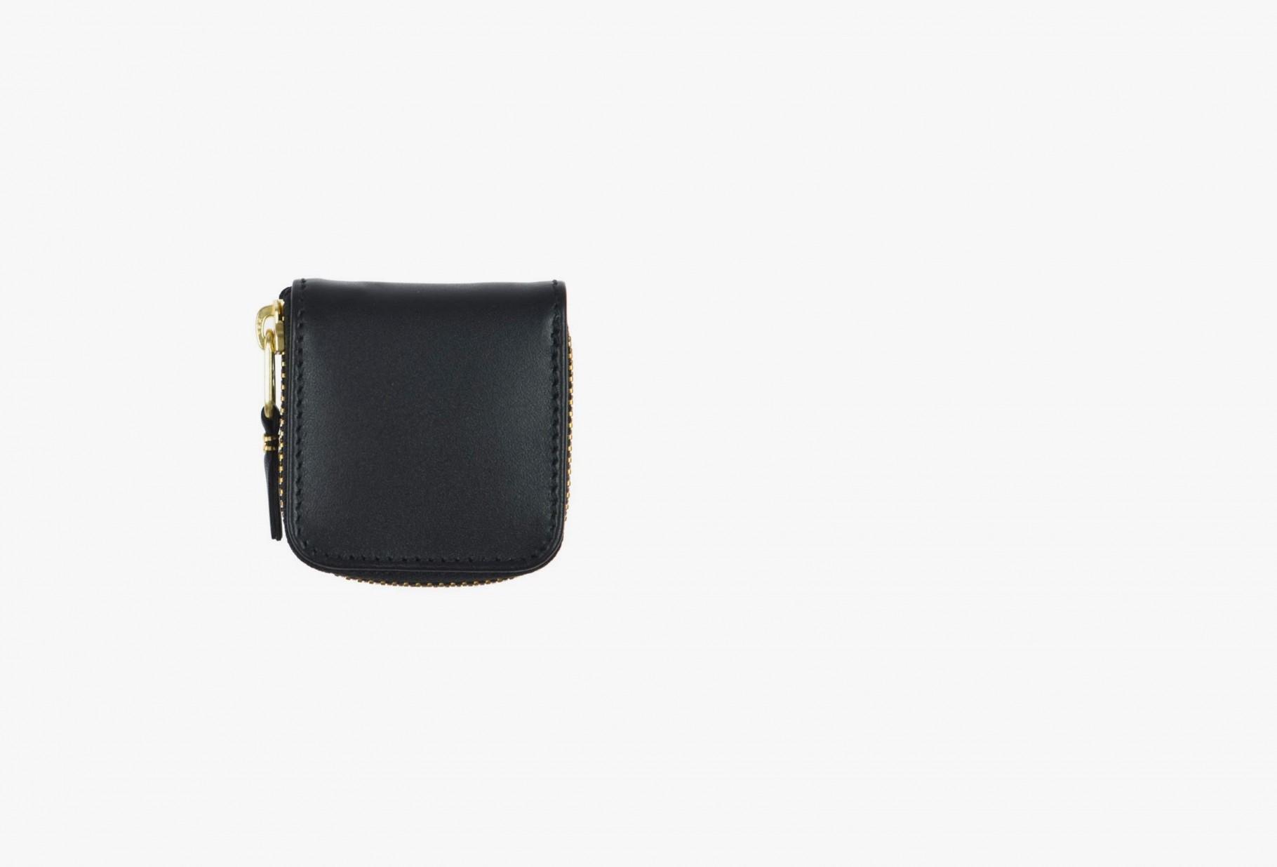 COMME DES GARÇONS WALLETS / Cdg leather wallet classic Sa4100 black