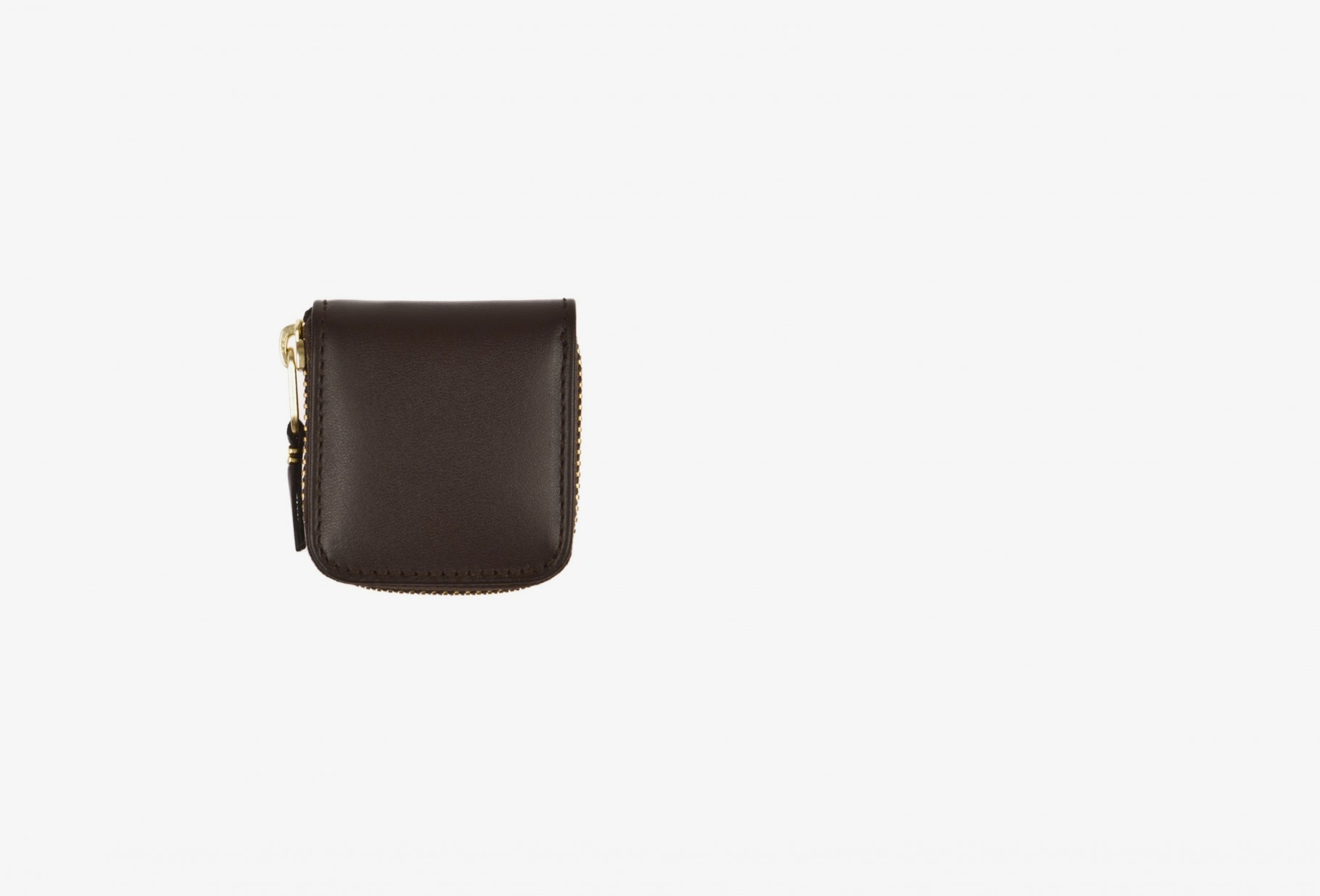 COMME DES GARÇONS WALLETS / Cdg leather wallet classic Sa4100 brown