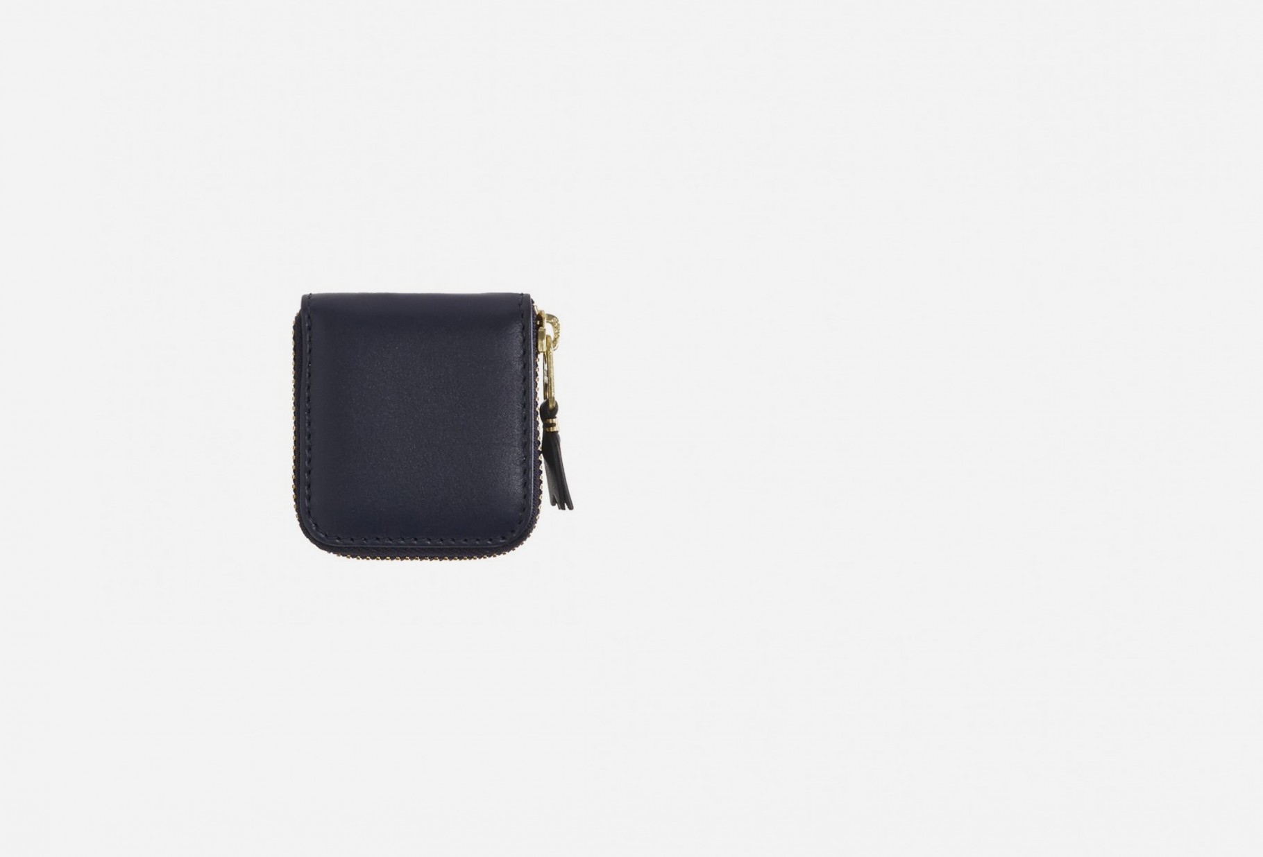 COMME DES GARÇONS WALLETS / Cdg leather wallet classic Sa4100 navy