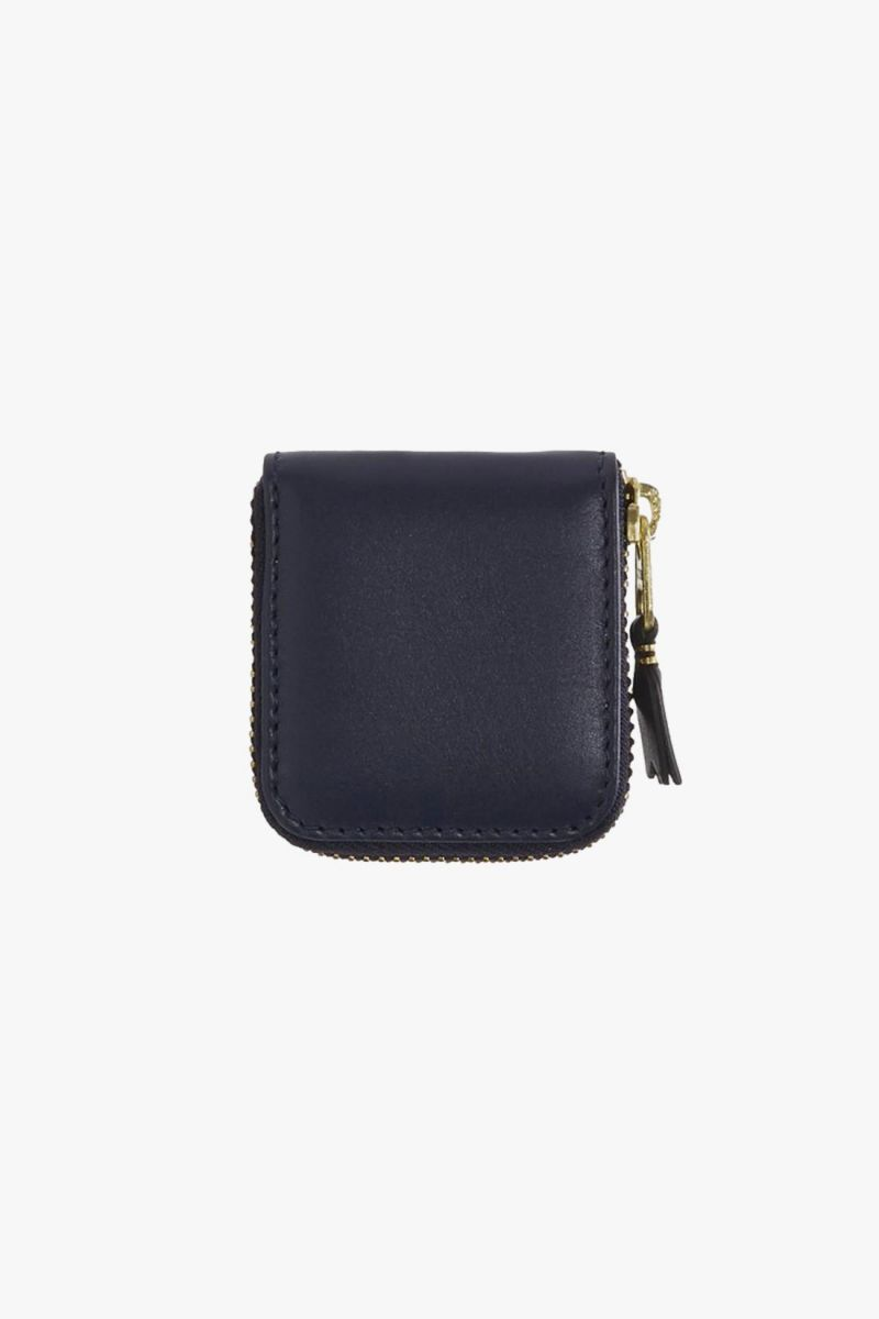Cdg leather wallet classic Navy