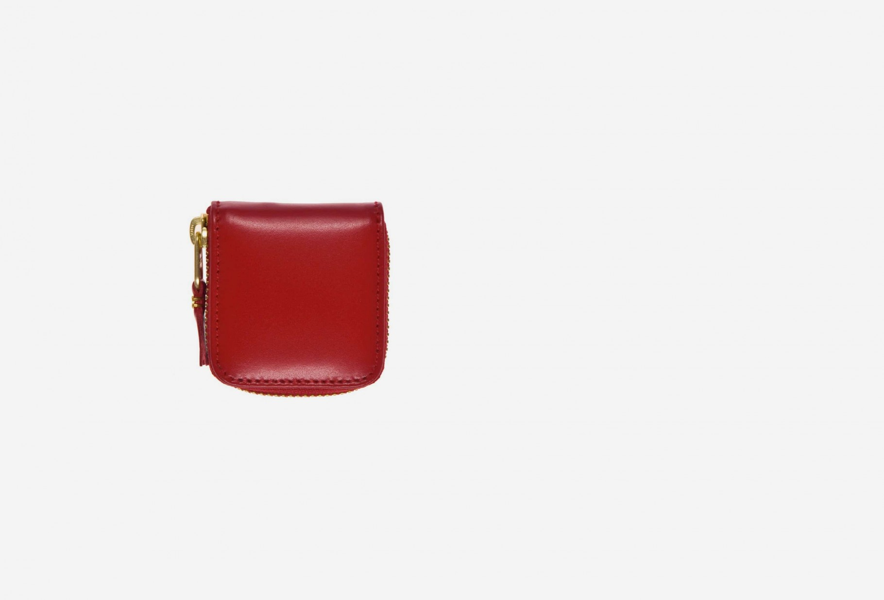 COMME DES GARÇONS WALLETS / Cdg leather wallet classic Sa4100 red