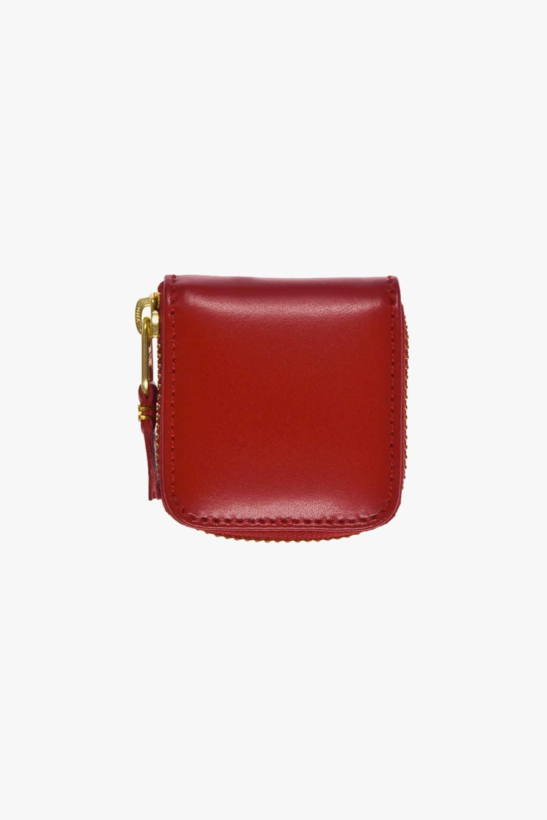 COMME DES GARÇONS WALLETS / Cdg leather wallet classic Red