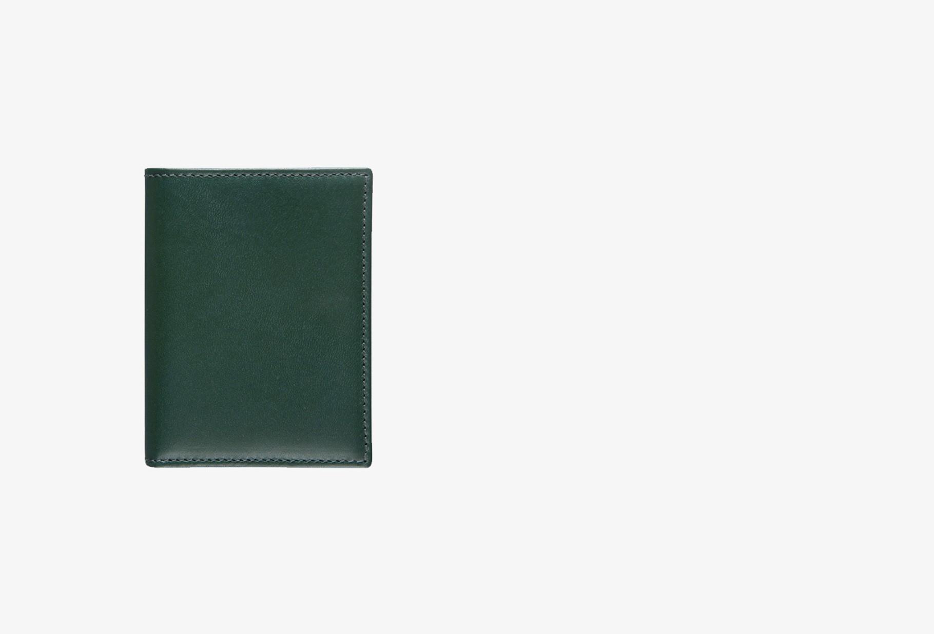 COMME DES GARÇONS WALLETS / Cdg leather wallet classic Sa0641 bottle green