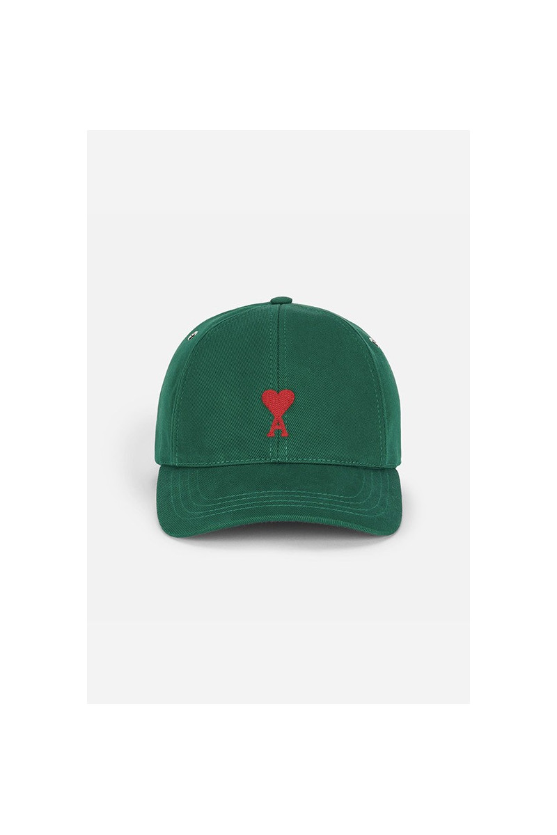 Cap with adc embroidery Green