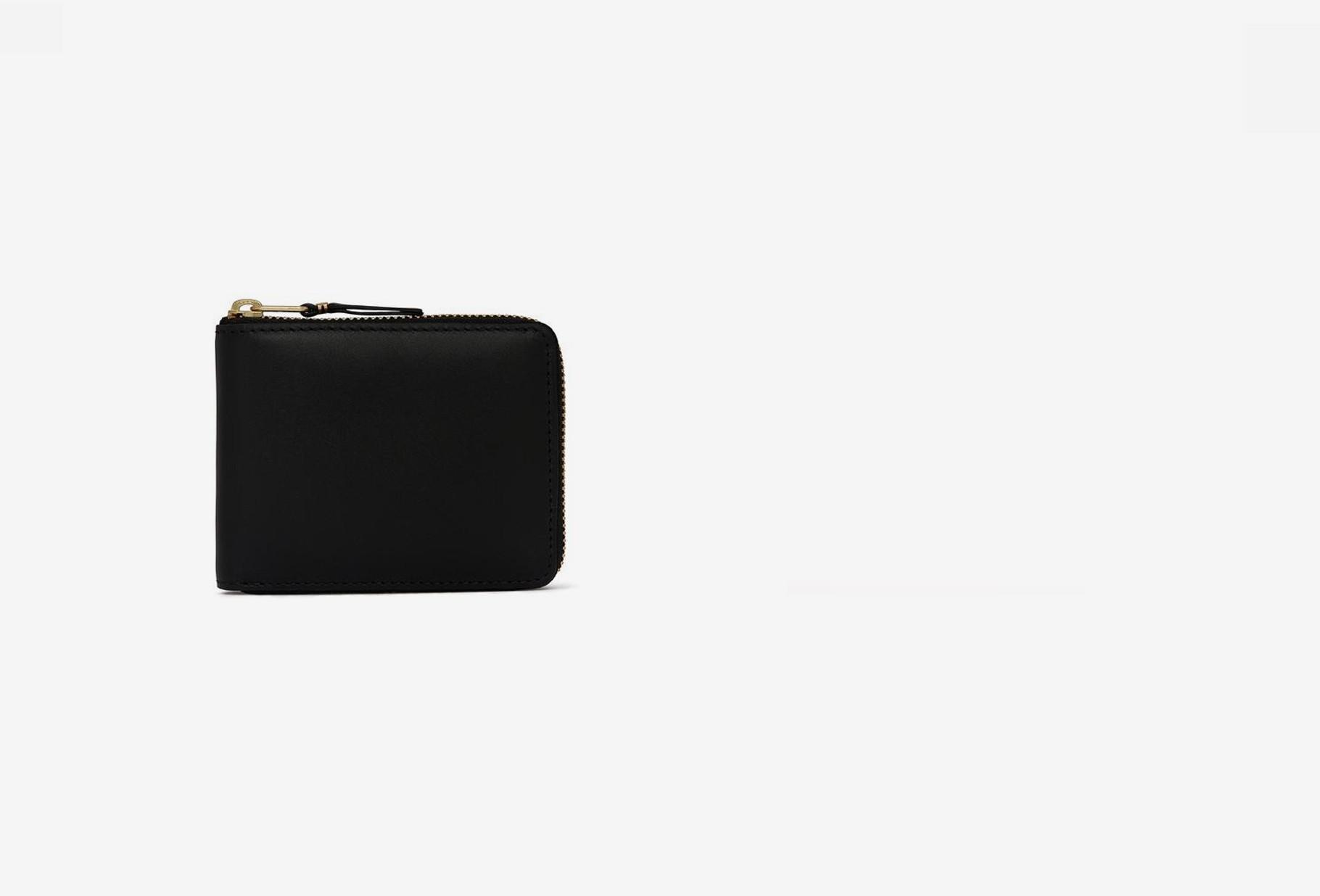 COMME DES GARÇONS WALLETS / Cdg leather wallet classic Sa7100 black