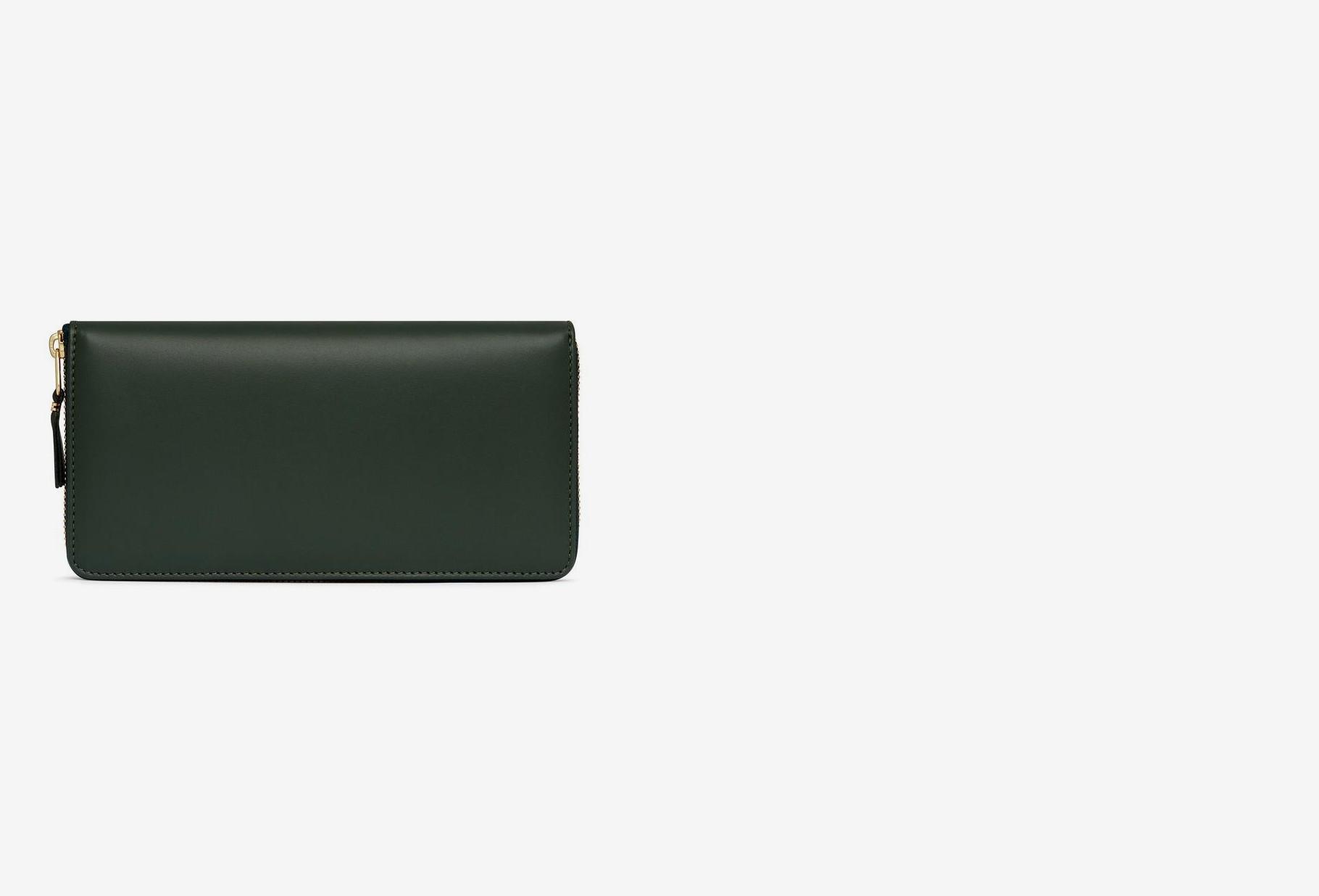 COMME DES GARÇONS WALLETS / Cdg leather wallet classic Sa0110 bottle green