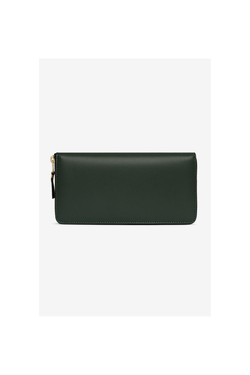 Cdg leather wallet classic Bottle green