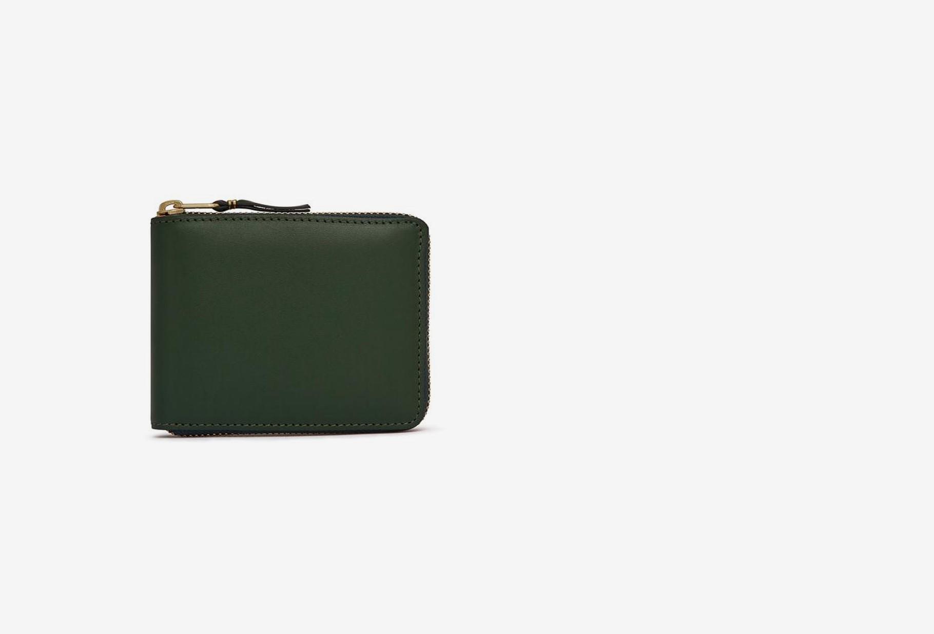 COMME DES GARÇONS WALLETS / Cdg leather wallet classic Sa7100 bottle green