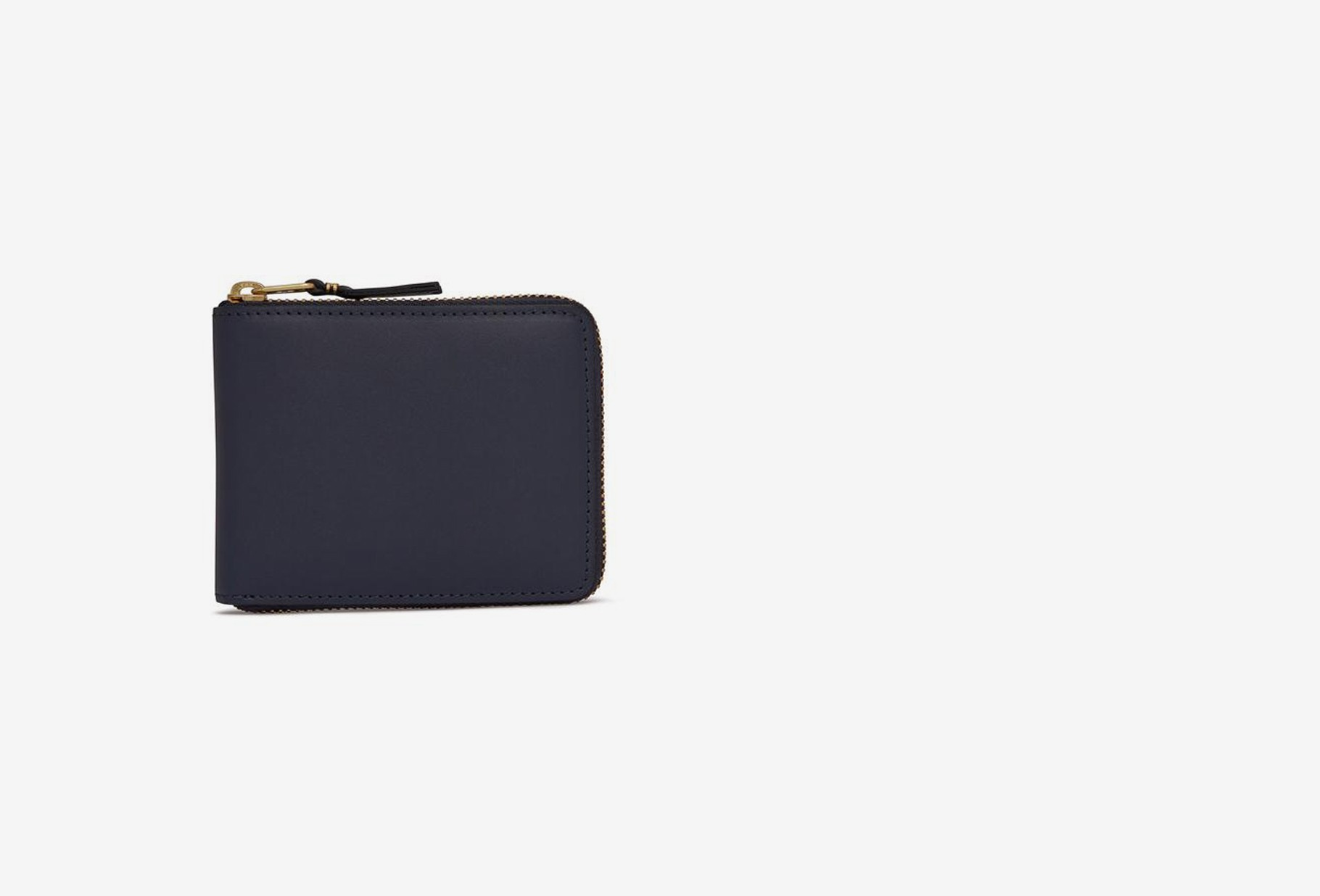COMME DES GARÇONS WALLETS / Cdg leather wallet classic Sa7100 navy