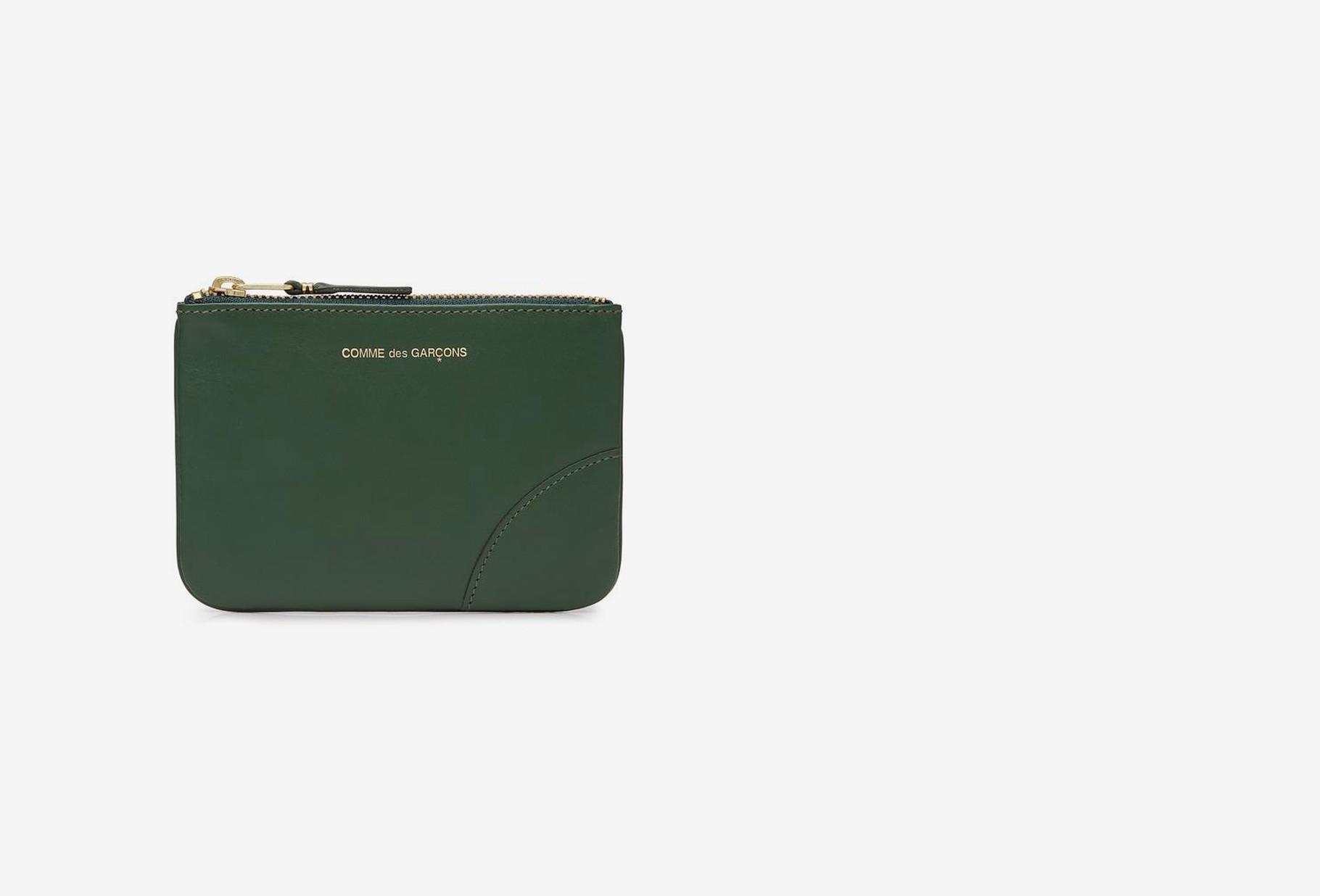 COMME DES GARÇONS WALLETS / Cdg leather wallet classic Sa8100 bottle green