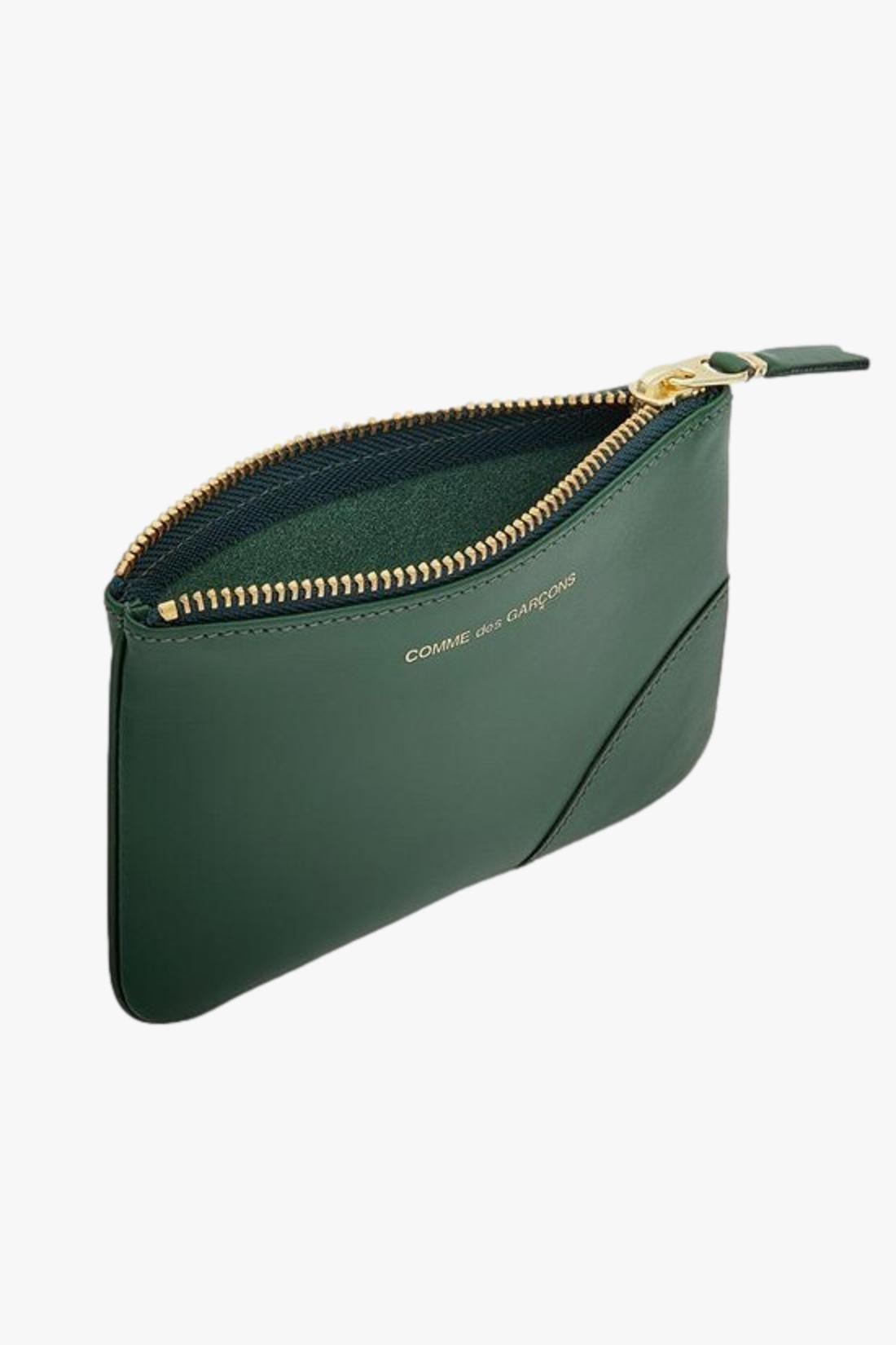 COMME DES GARÇONS WALLETS / Cdg leather wallet classic Bottle green