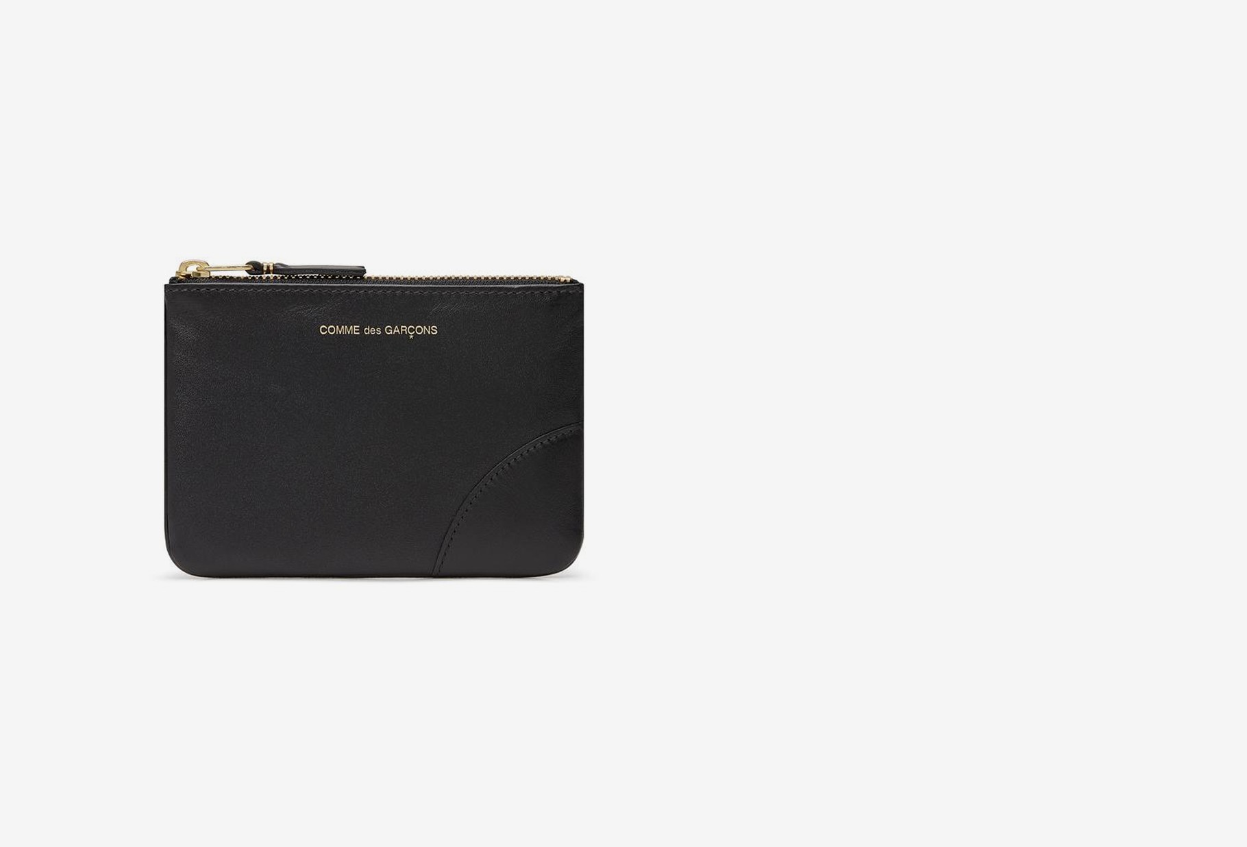 COMME DES GARÇONS WALLETS / Cdg leather wallet classic Sa8100 black