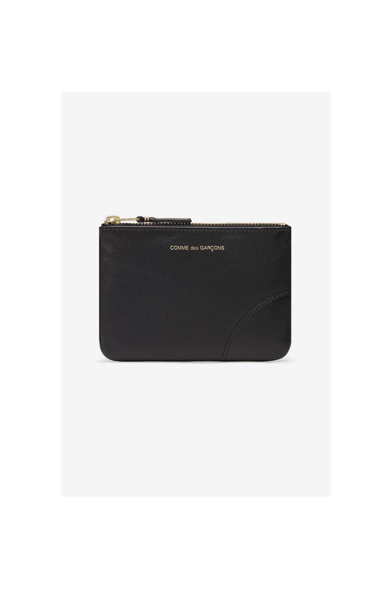 Cdg leather wallet classic Black