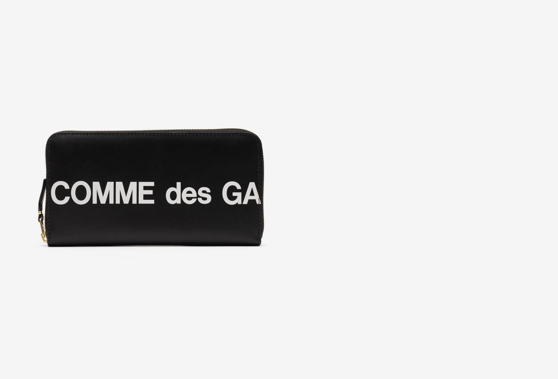 COMME DES GARÇONS WALLETS / Cdg huge logo wallet sa0111hl Black