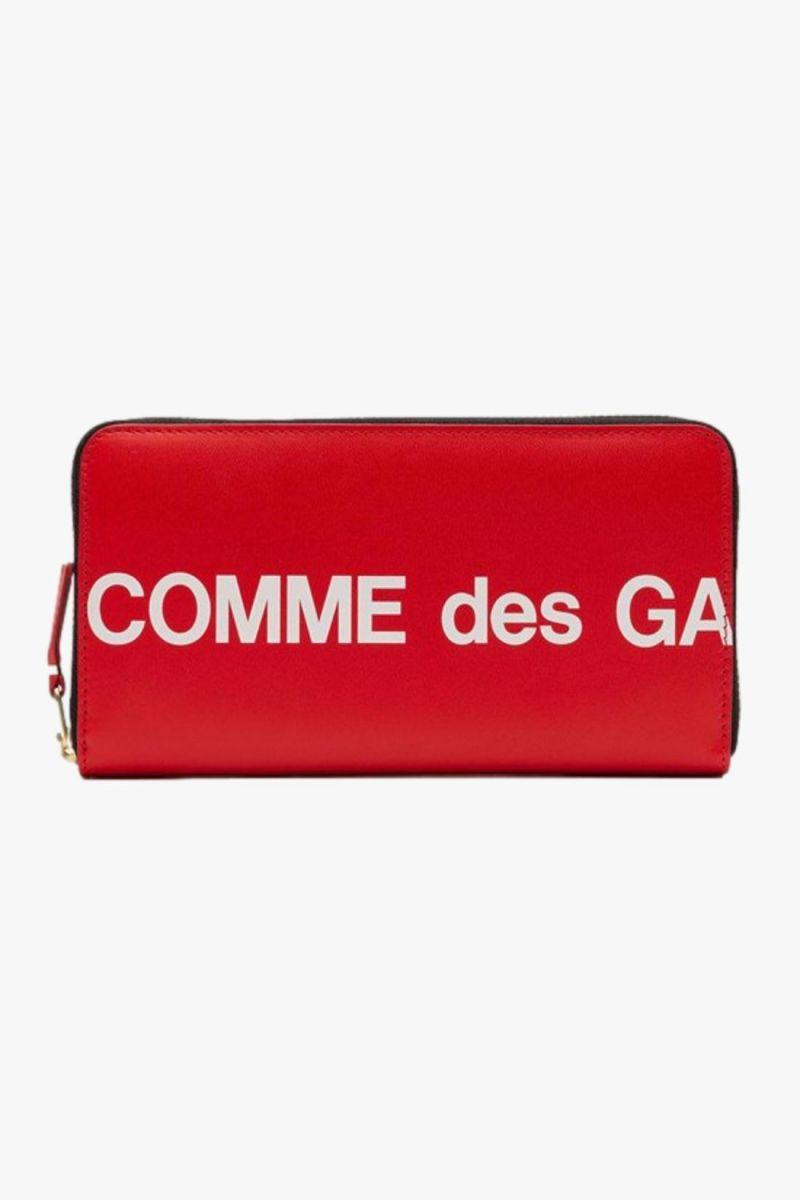 Cdg huge logo wallet sa0111hl Red