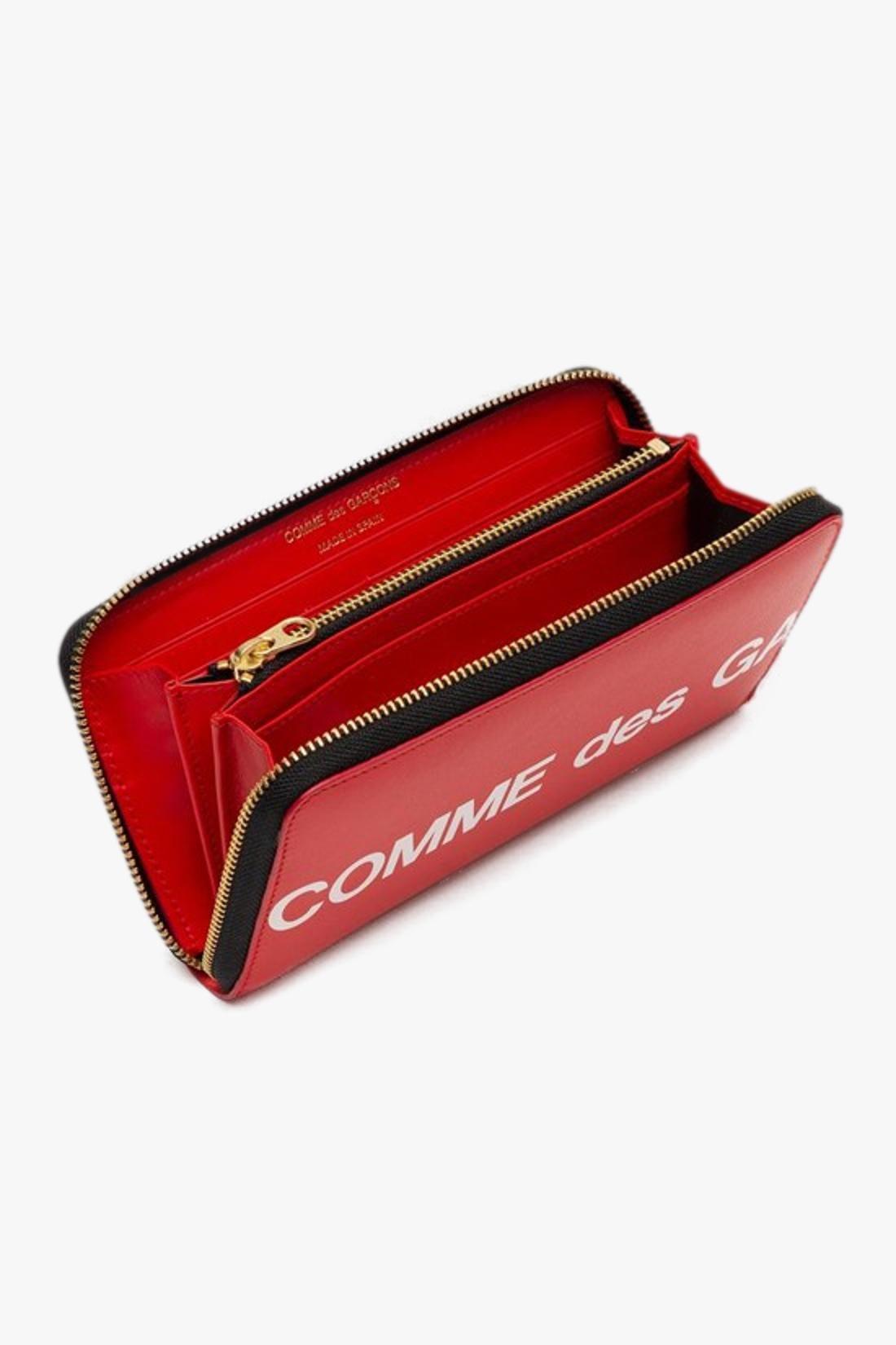 COMME DES GARÇONS WALLETS / Cdg huge logo wallet sa0111hl Red