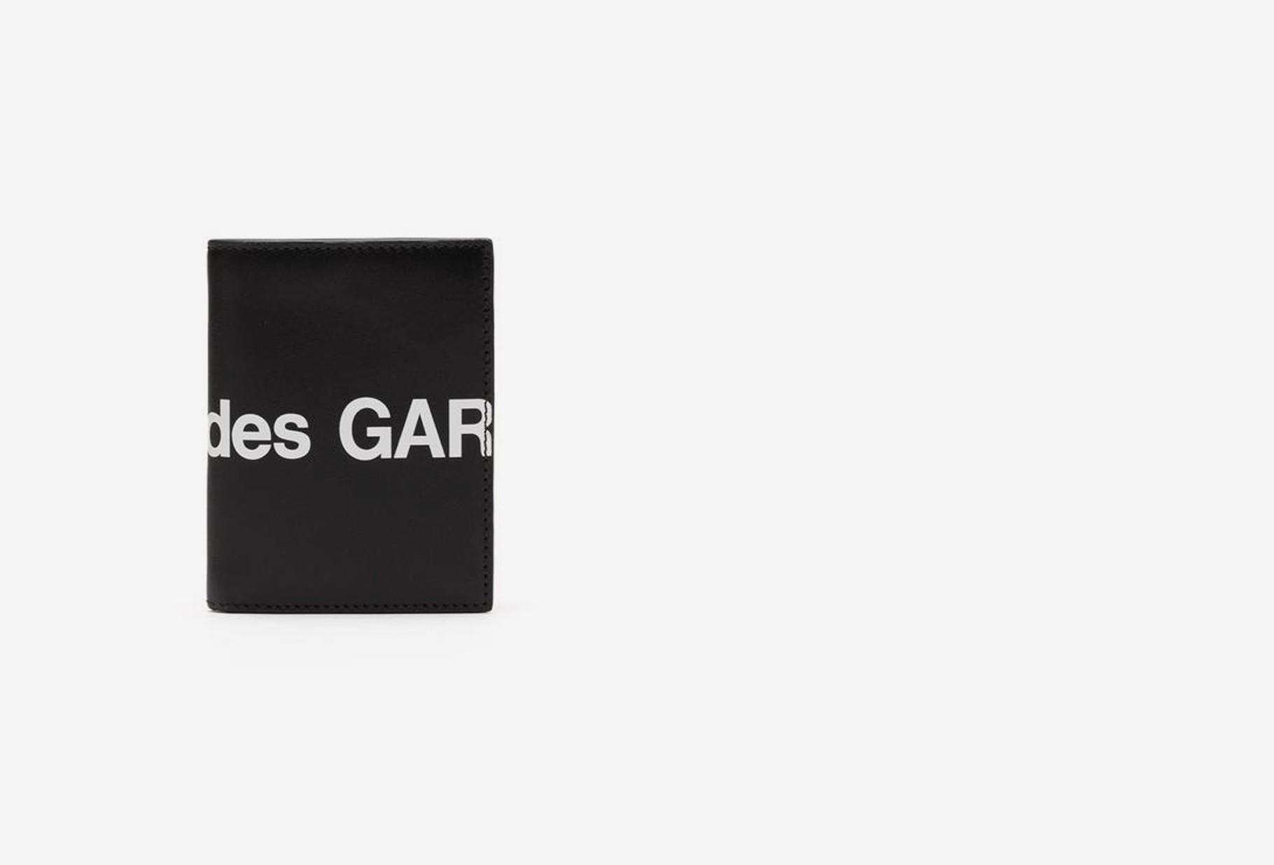 COMME DES GARÇONS WALLETS / Cdg huge logo wallet sa0641hl Black