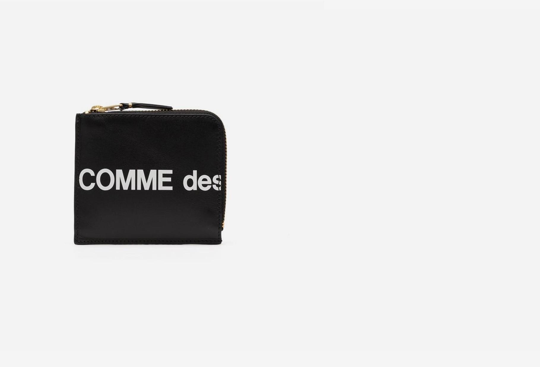 COMME DES GARÇONS WALLETS / Cdg huge logo wallet sa3100hl Black