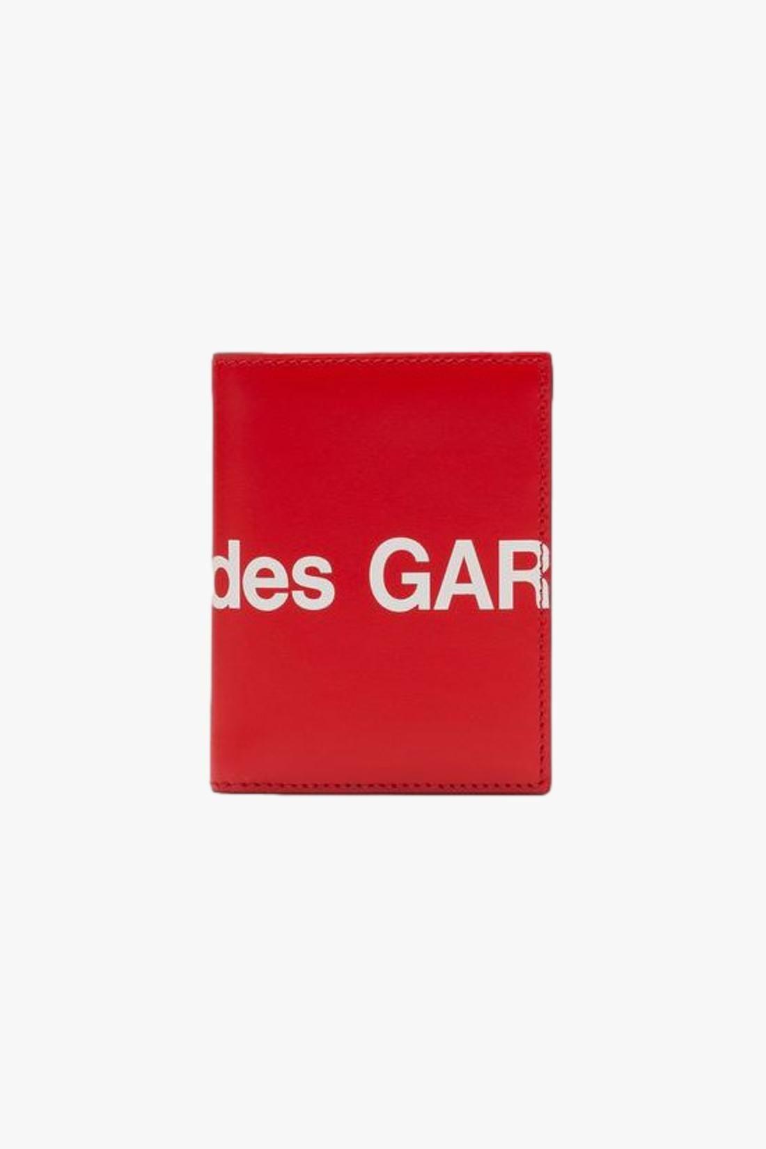 COMME DES GARÇONS WALLETS / Cdg huge logo wallet sa0641hl Red