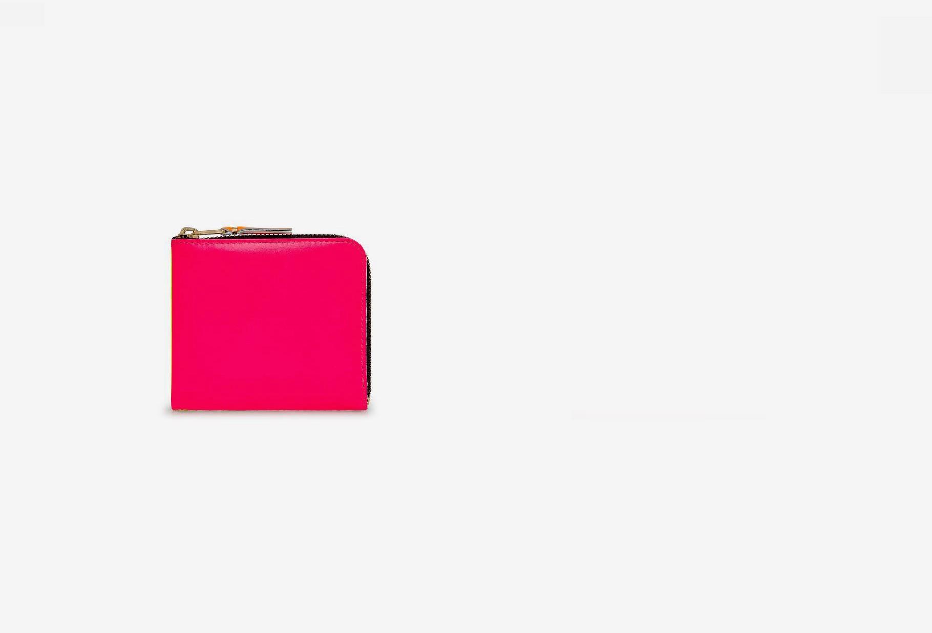 COMME DES GARÇONS WALLETS / Cdg super fluo sa3100sf Pink yellow