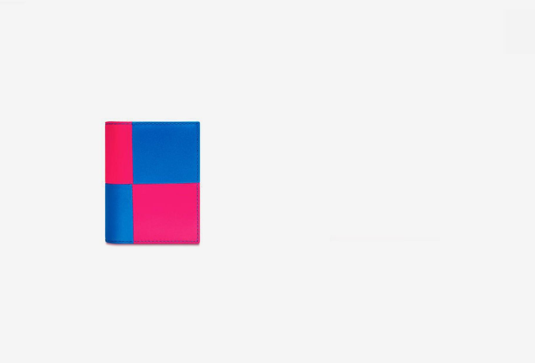 COMME DES GARÇONS WALLETS / Cdg wallet fluo squares Sa0641fs pink blue