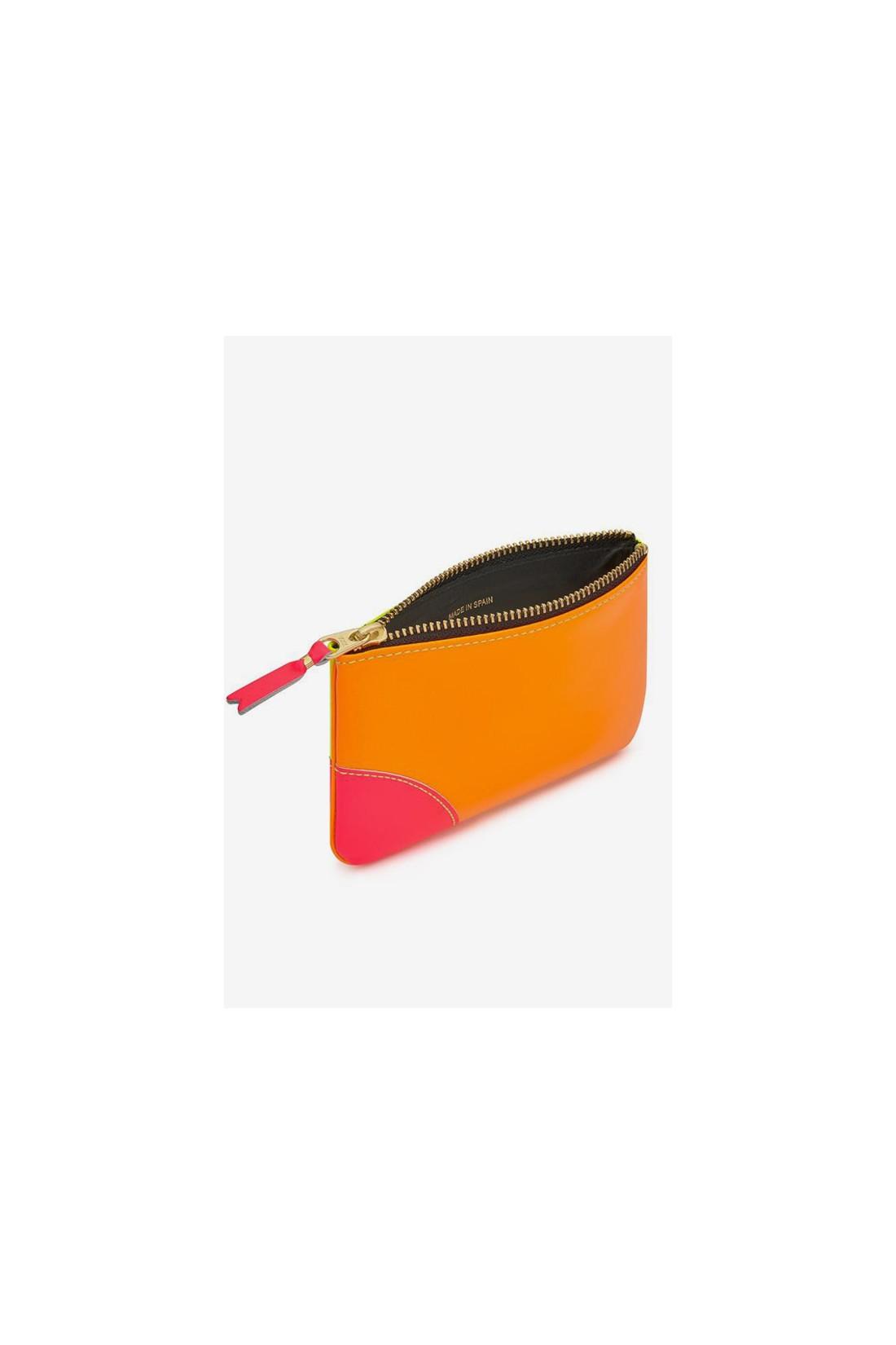 COMME DES GARÇONS WALLETS / Cdg super fluo sa8100sf Yellow orange