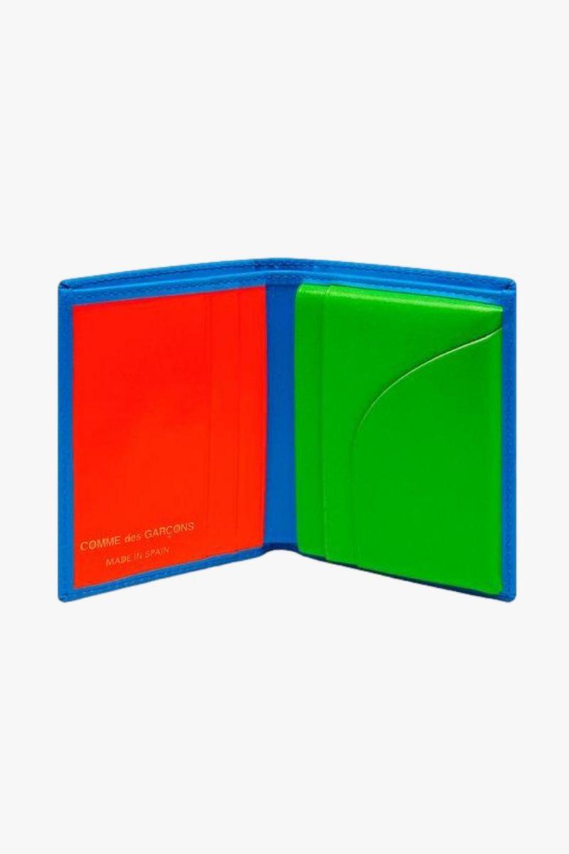 Cdg super fluo sa0641sf Blue green