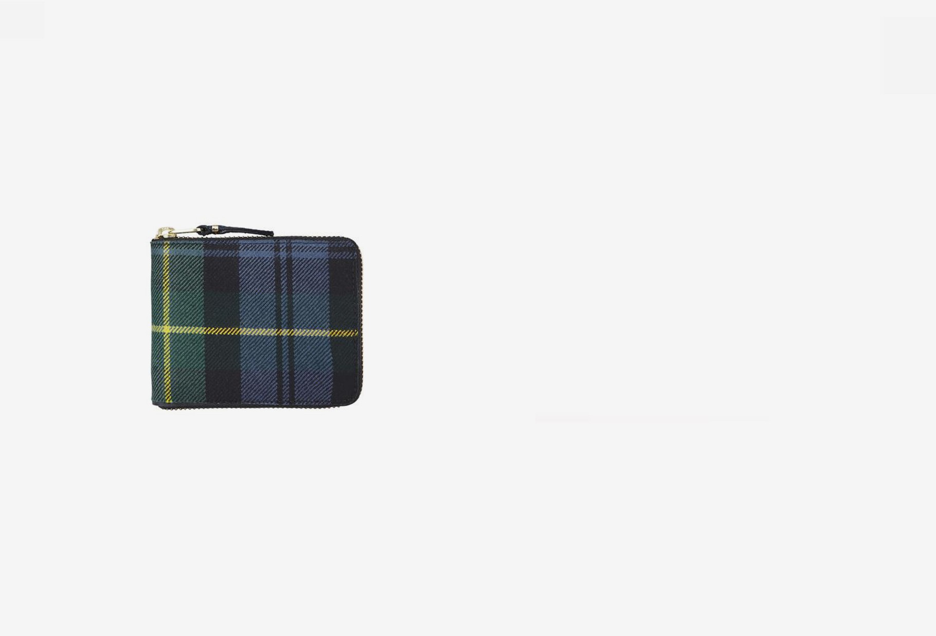 COMME DES GARÇONS WALLETS / Cdg wallet tartan patchwork Sa7100tp green