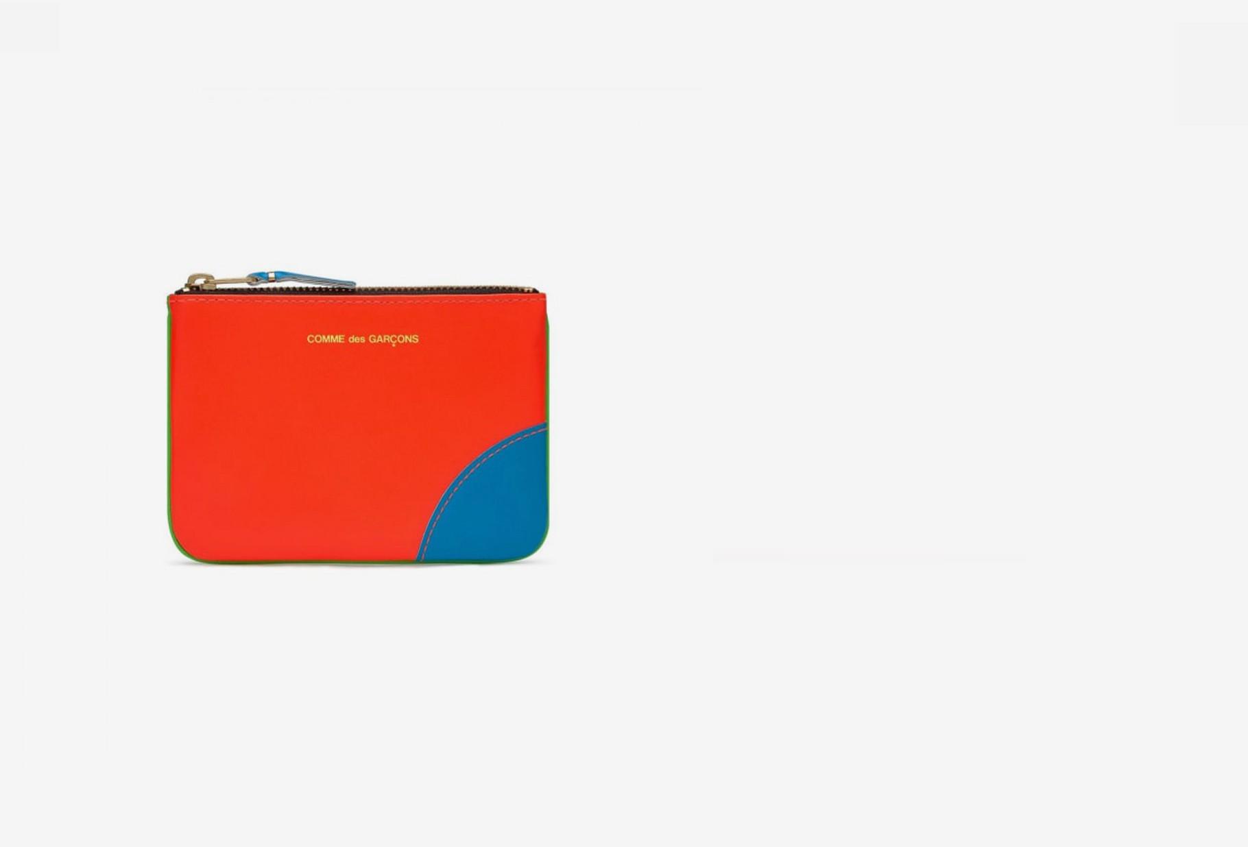 COMME DES GARÇONS WALLETS / Cdg super fluo sa8100sf Orange blue