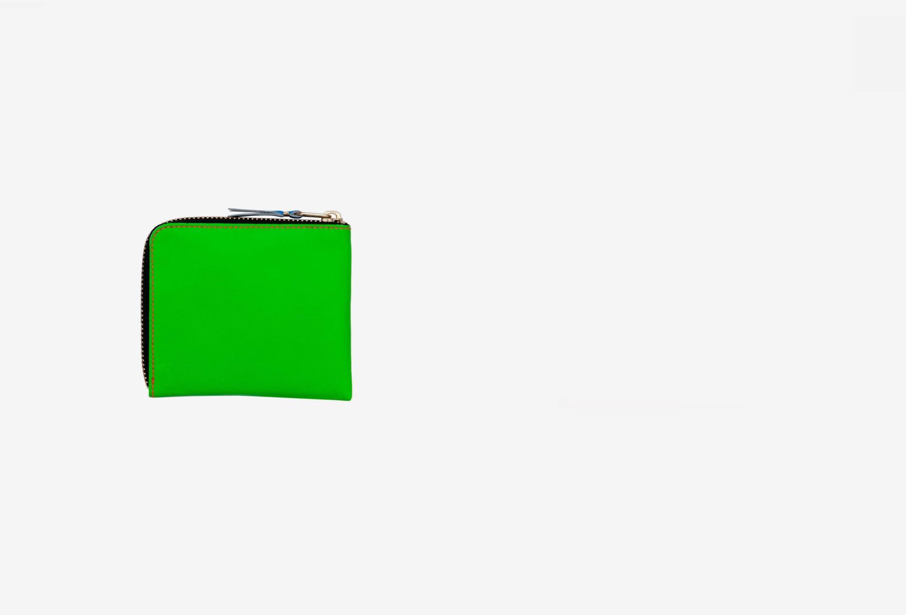 COMME DES GARÇONS WALLETS / Cdg super fluo sa3100sf Green orange