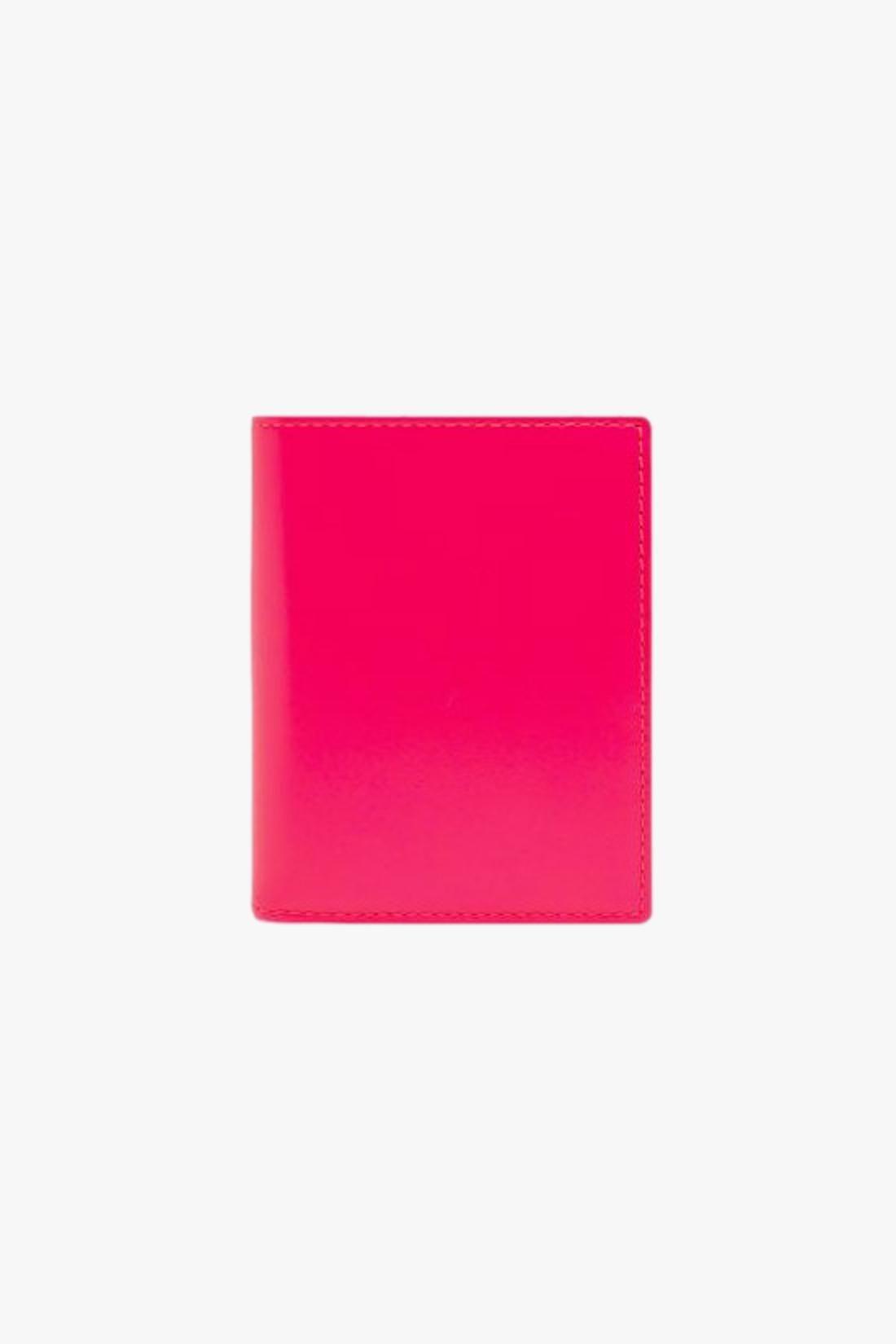 COMME DES GARÇONS WALLETS / Cdg super fluo sa0641sf Pink yellow