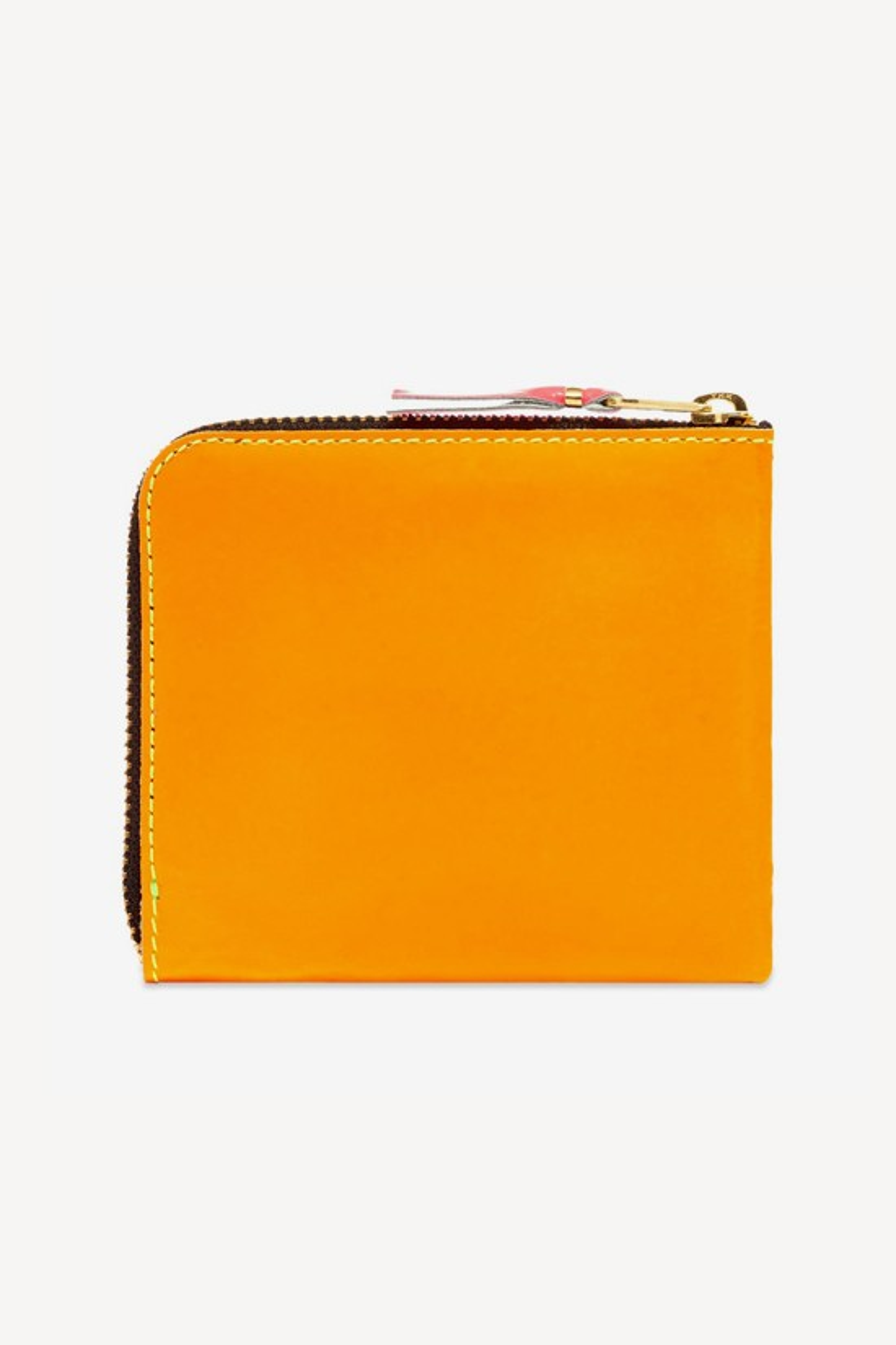 COMME DES GARÇONS WALLETS / Cdg classic leather wallet Yellow light orange