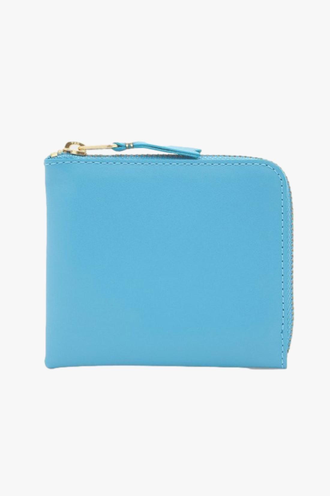 COMME DES GARÇONS WALLETS / Cdg classic leather wallet Sa3100 blue