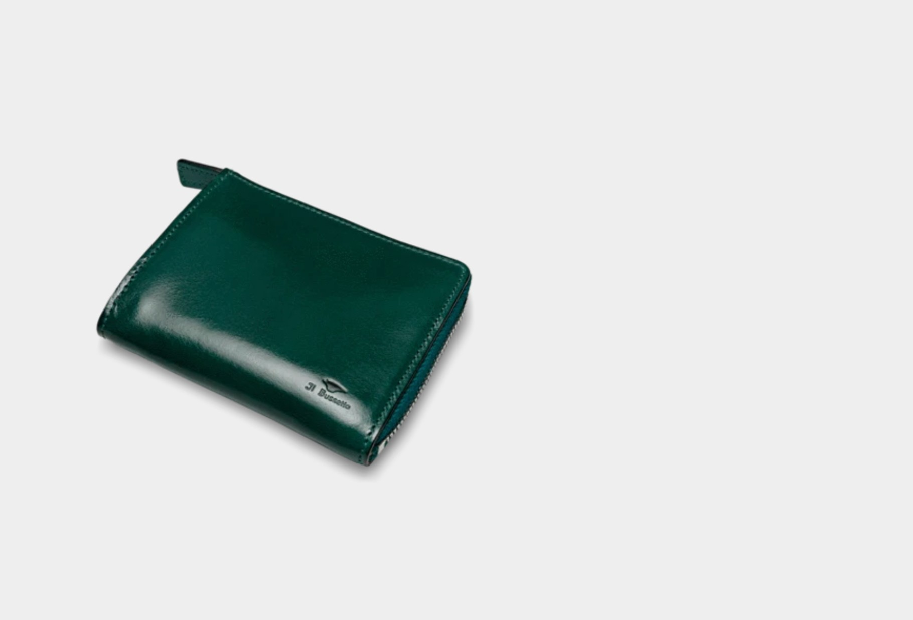 IL BUSSETTO / Isola wallet Forest green