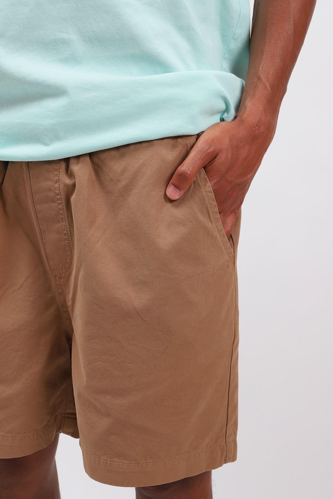 COLORFUL STANDARD / Classic organic twill shorts Sahara camel