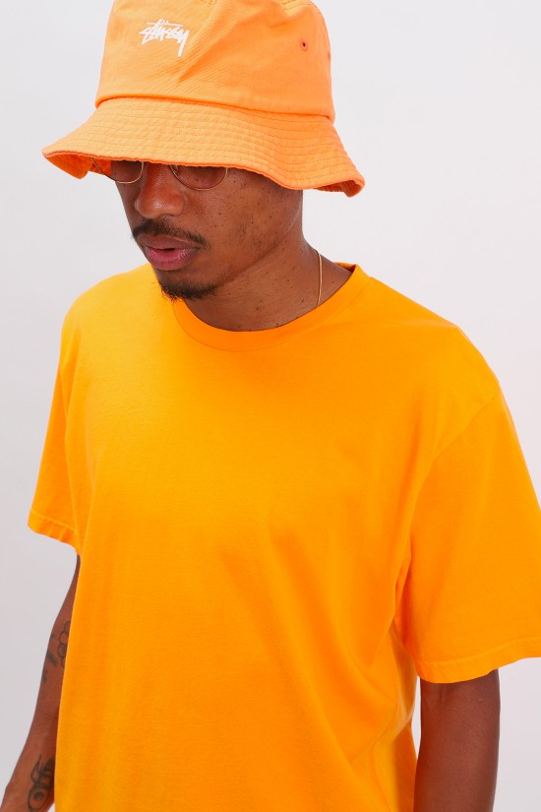 COLORFUL STANDARD / Classic organic tee Sunny orange