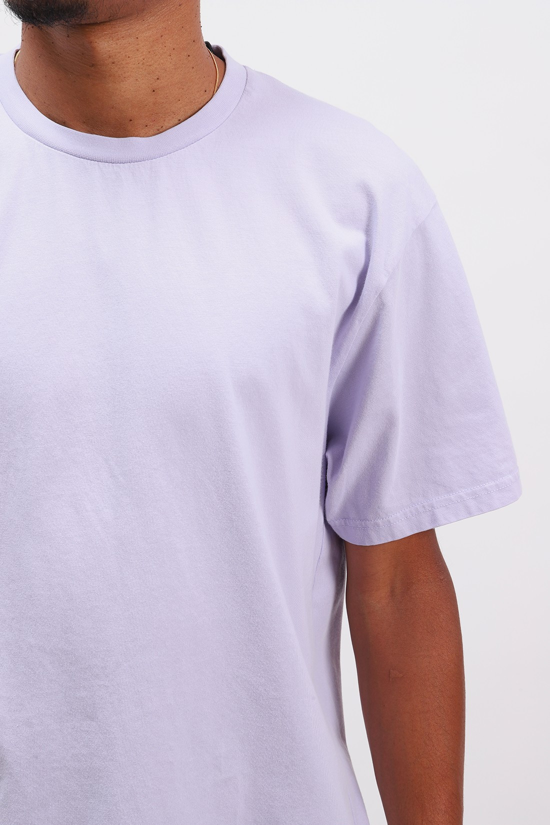 COLORFUL STANDARD / Classic organic tee Soft lavender