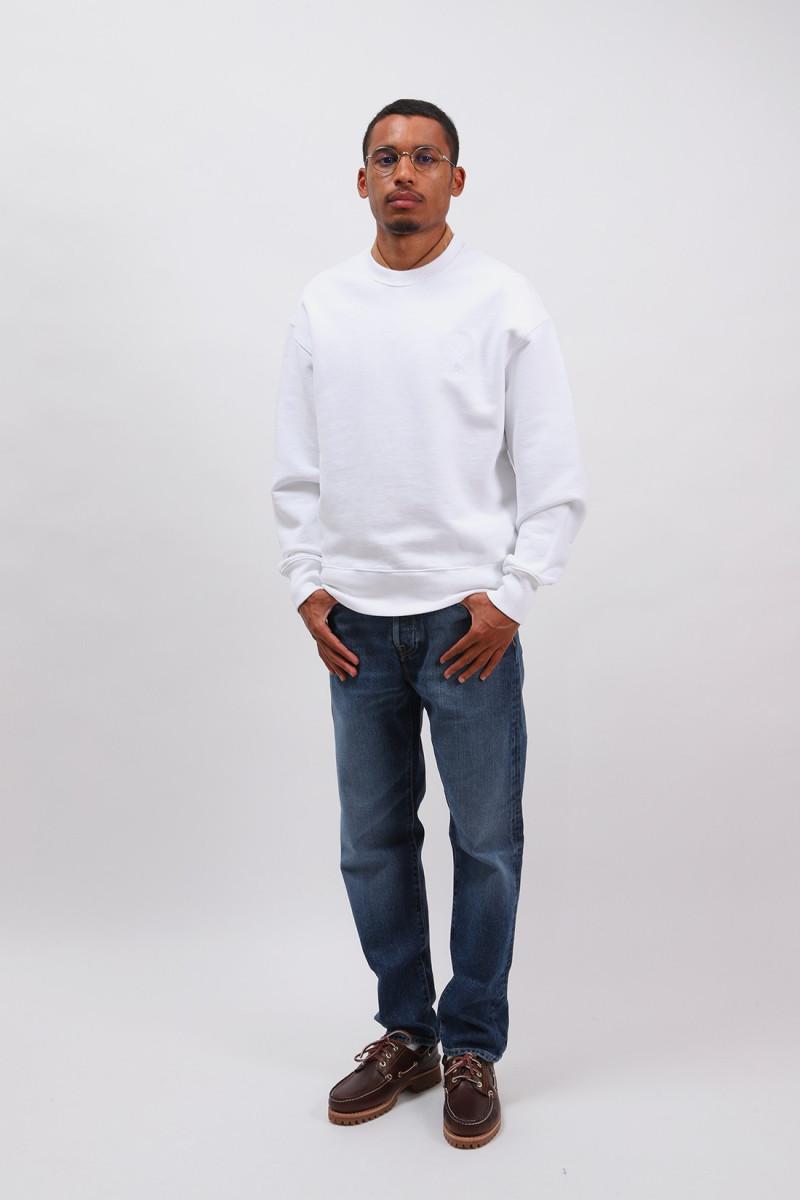 Ami de coeur sweatshirt White