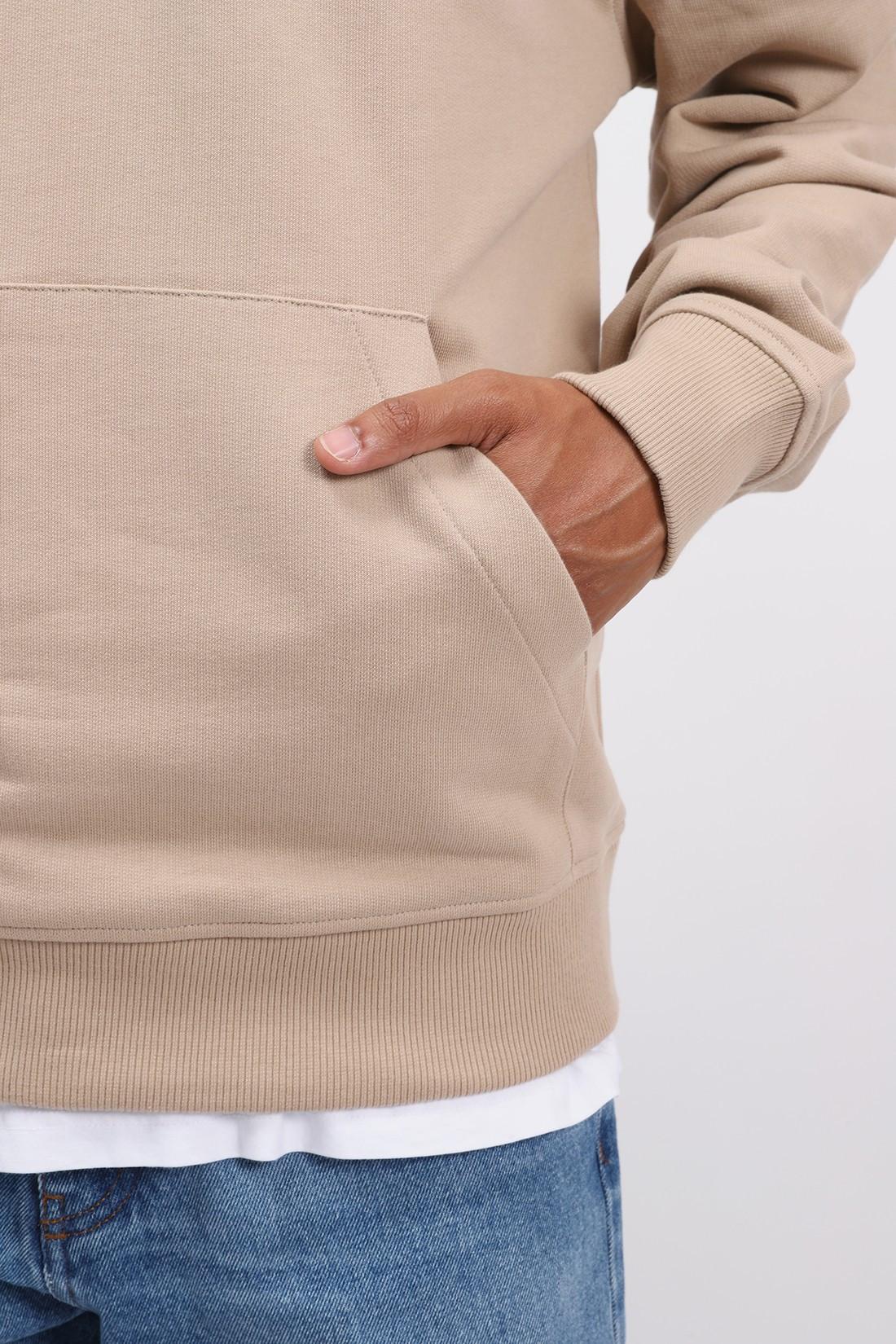 AMI / Sweatshirt zippe ami de coeur Beige