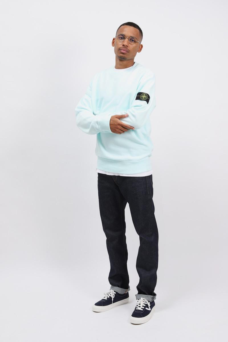 63020 crewneck sweater v0052 Verde chiaro