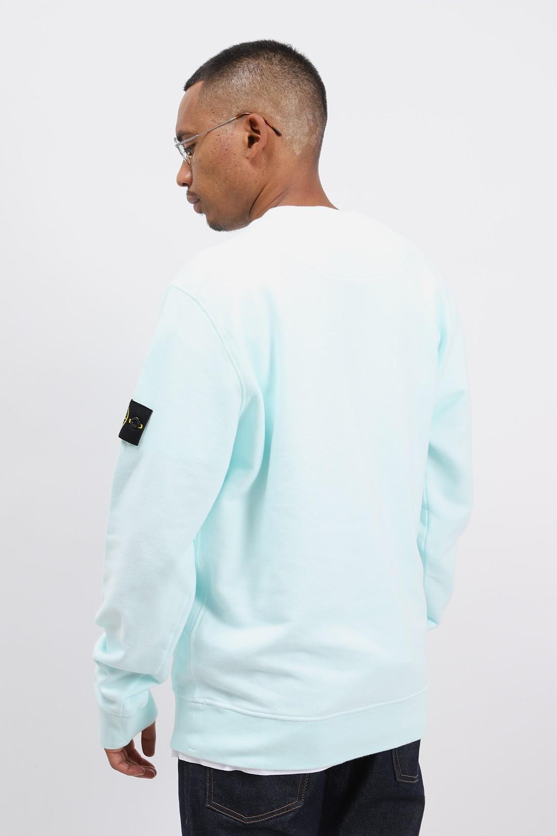 STONE ISLAND / 63020 crewneck sweater v0052 Verde chiaro