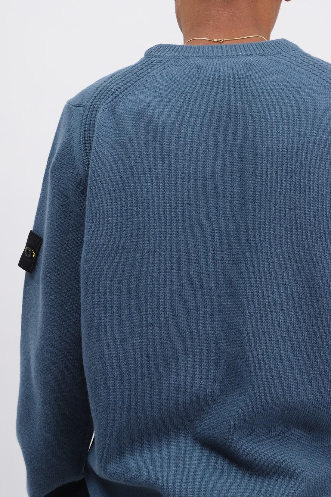 STONE ISLAND / 535a3 classic knit v0023 Ottanio