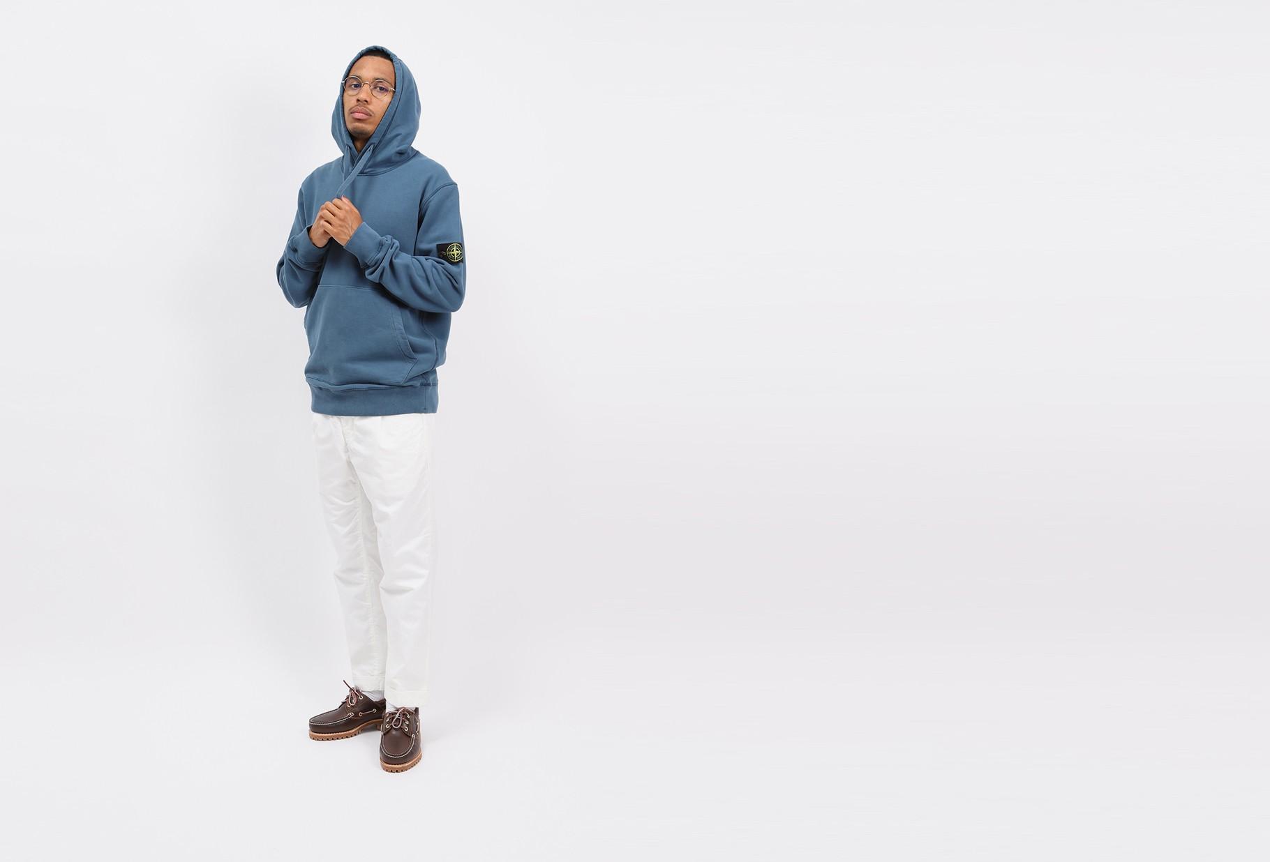 STONE ISLAND / 64120 hooded sweater v0023 Ottanio