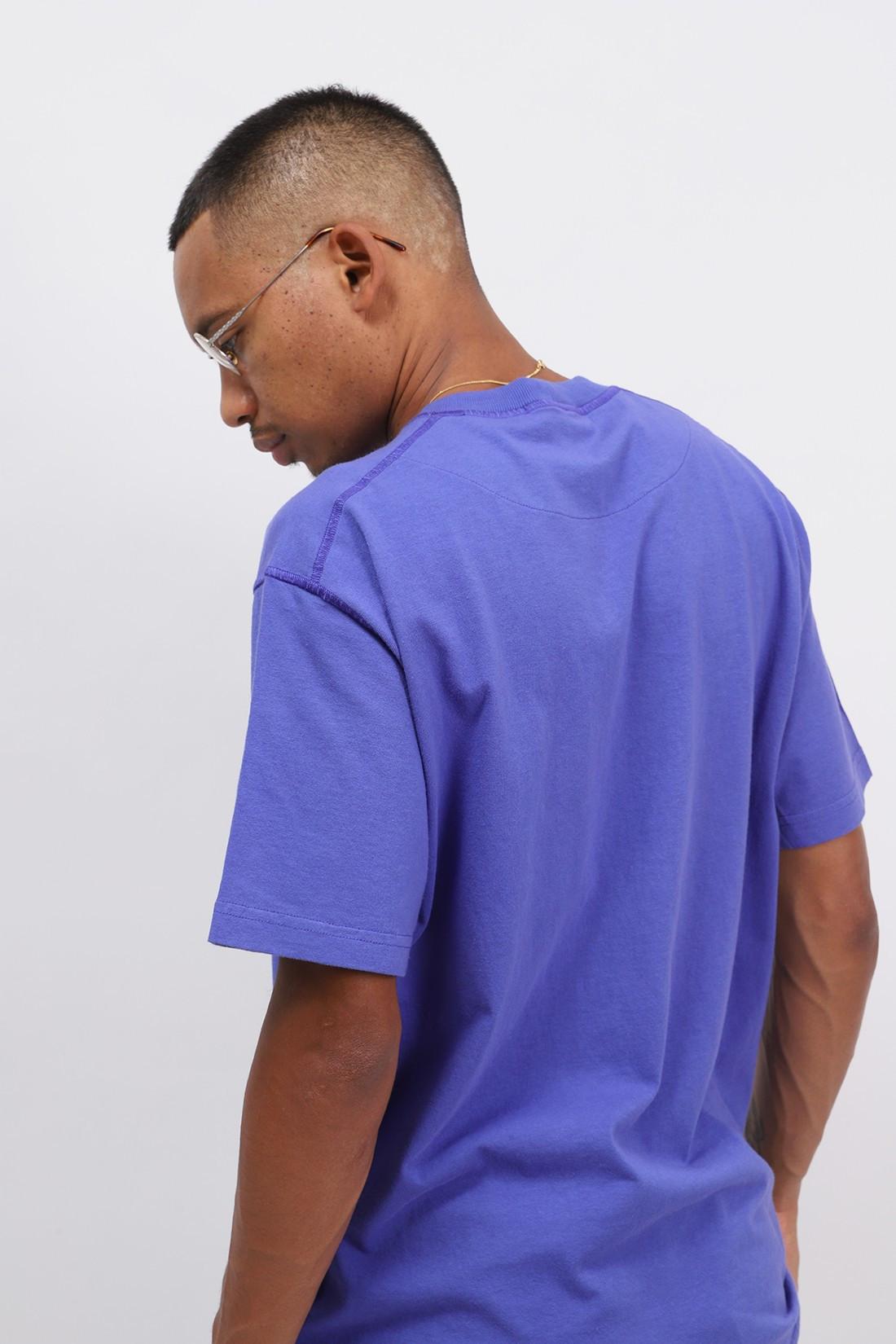 STONE ISLAND / 23742 fissato t shirt v0043 Pervinca