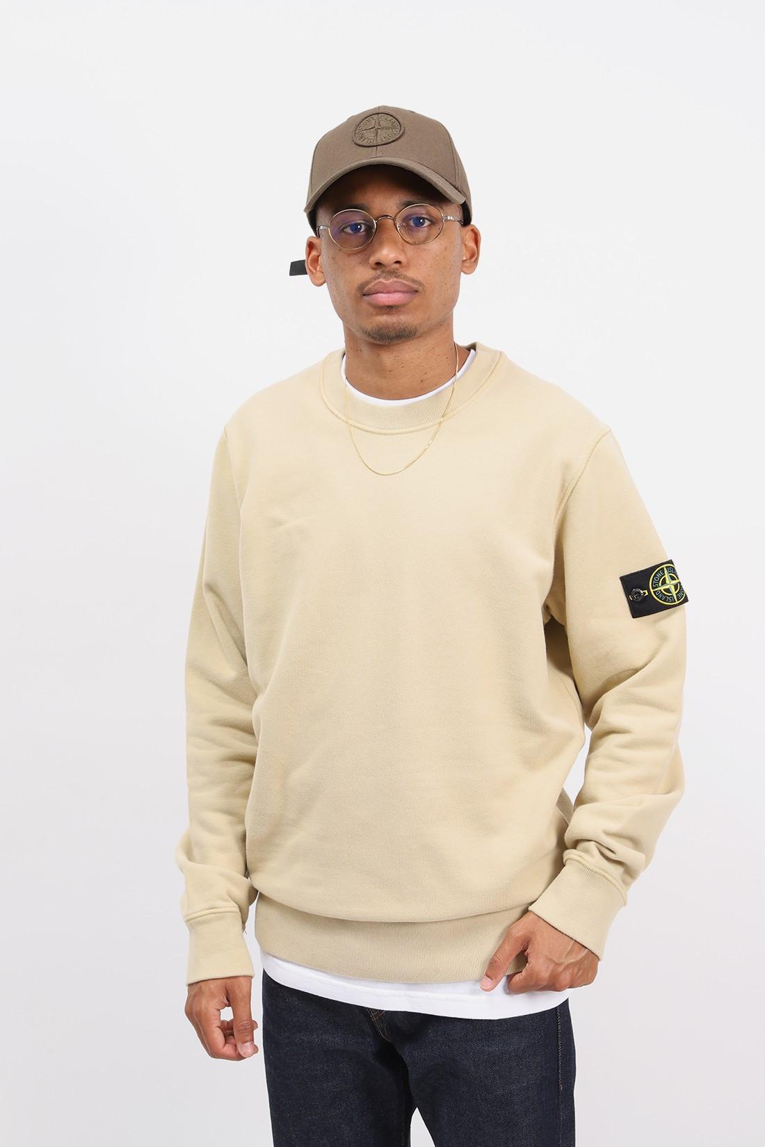 STONE ISLAND / 63020 crewneck sweater v0091 Ecru