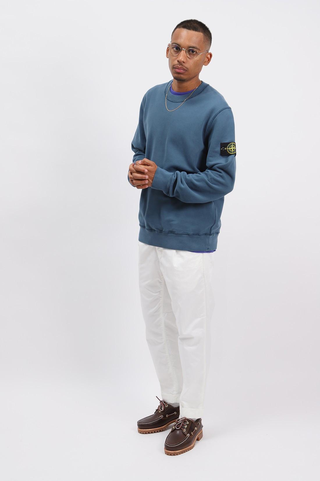 STONE ISLAND / 63020 crewneck sweater v0023 Ottanio